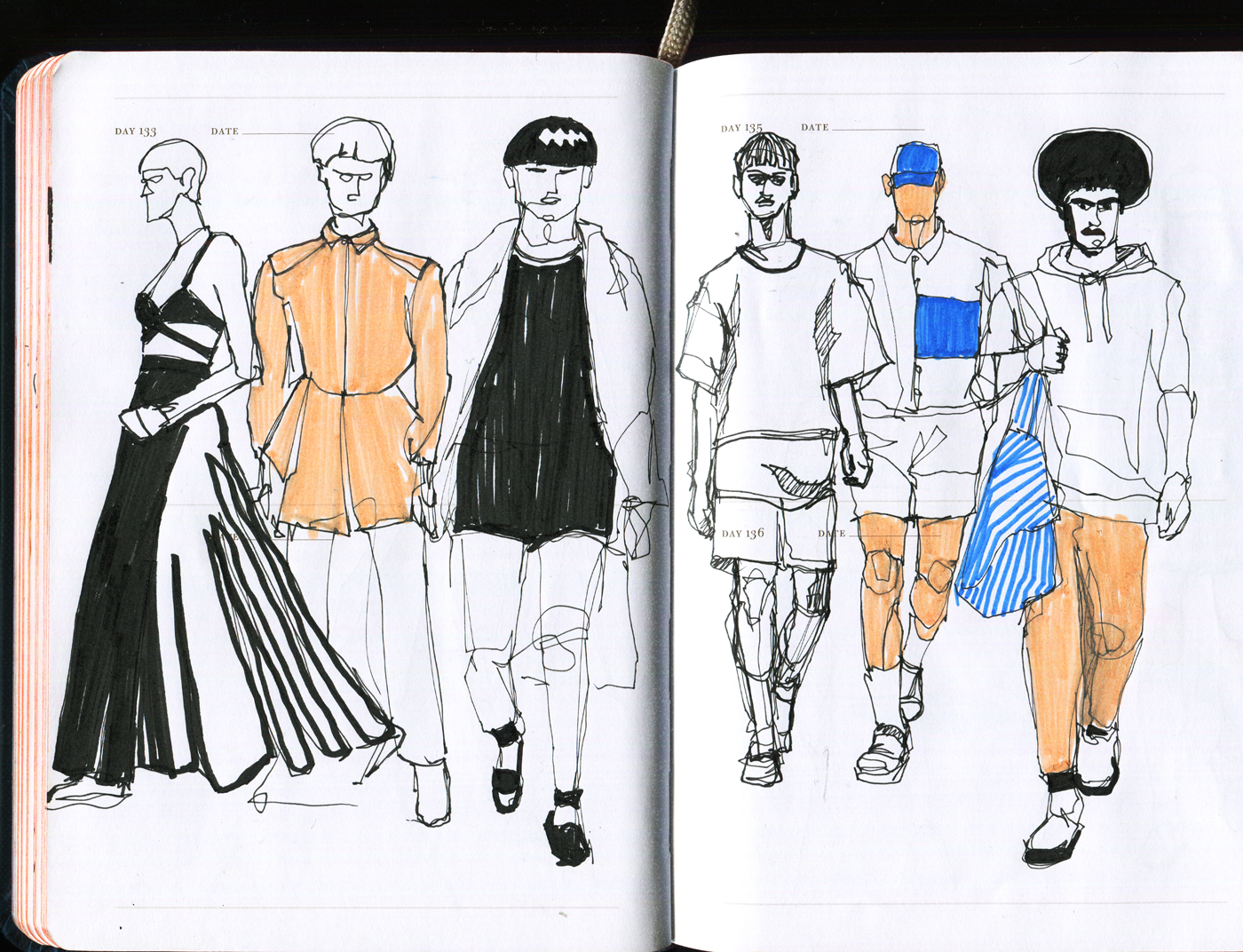Daily Pages: Runway