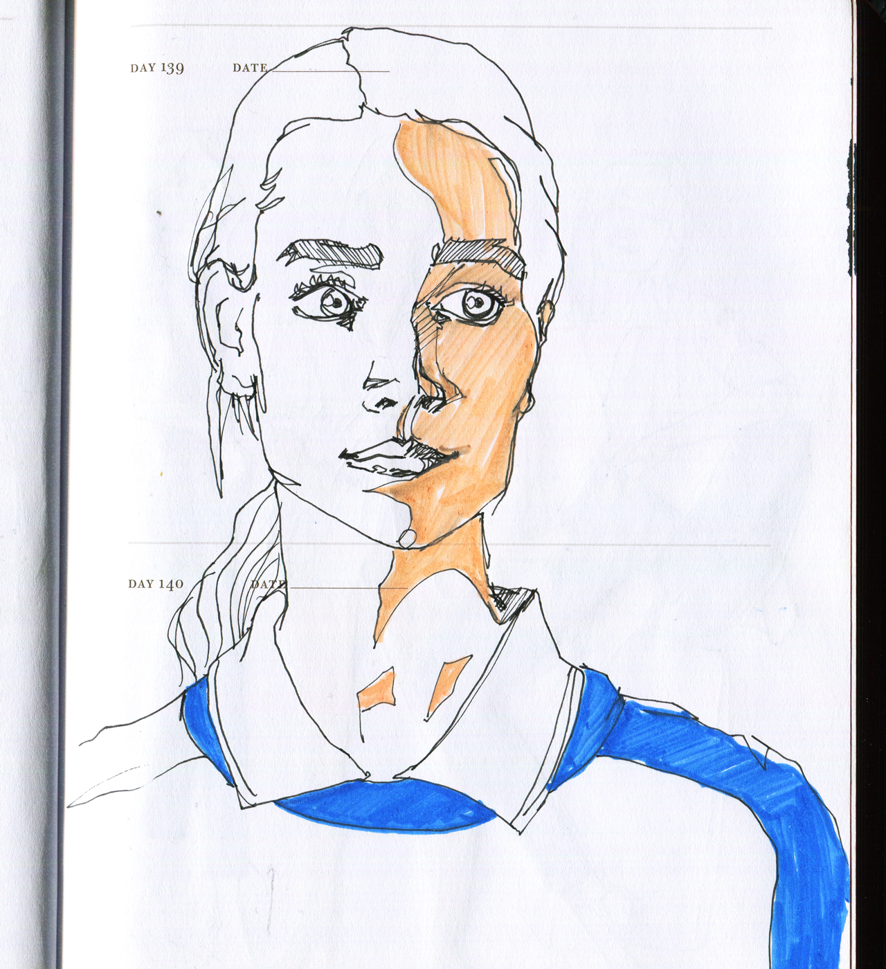 Daily Pages: Woman