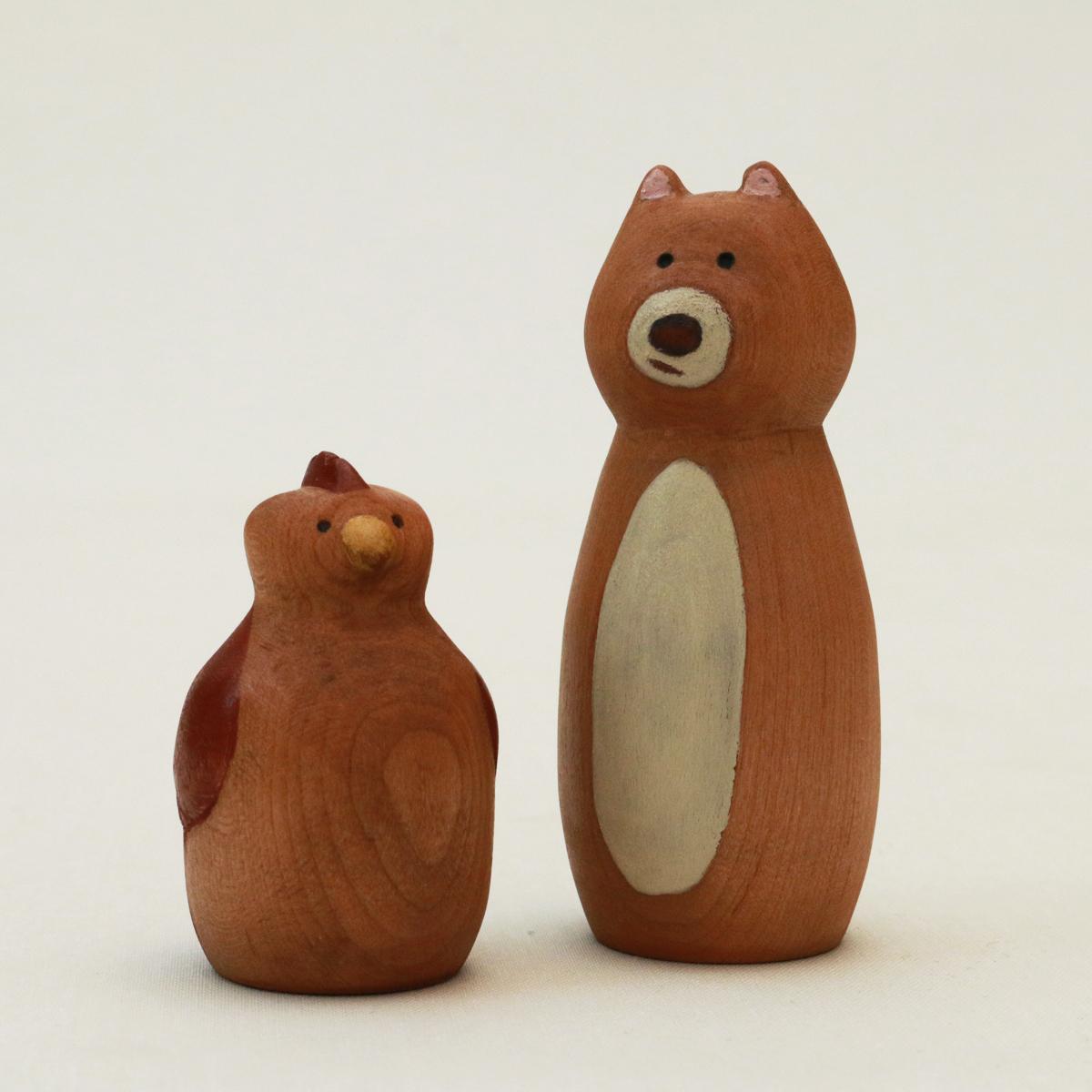 Daisy Bear (SOLD) and Peep