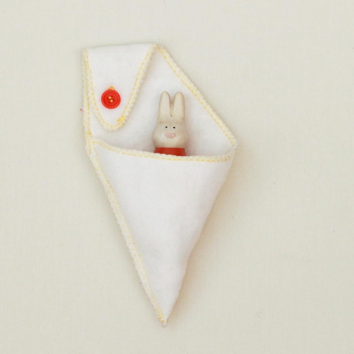 Hoppy (SOLD) in Crib Pocket