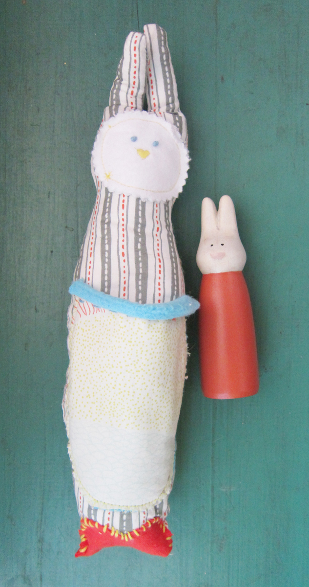 Soft Bunny with Hoppy (SOLD)