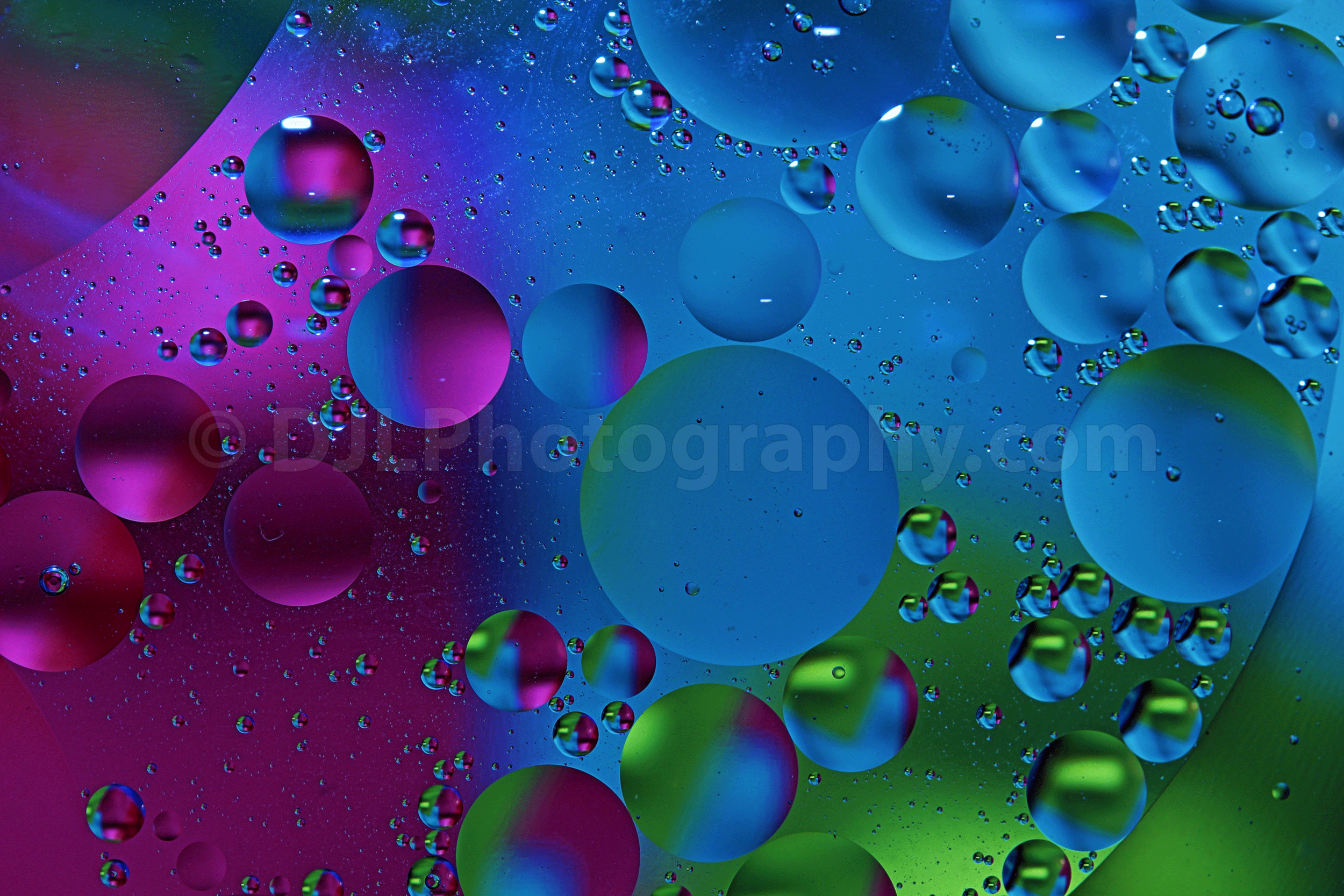 Colours in Water