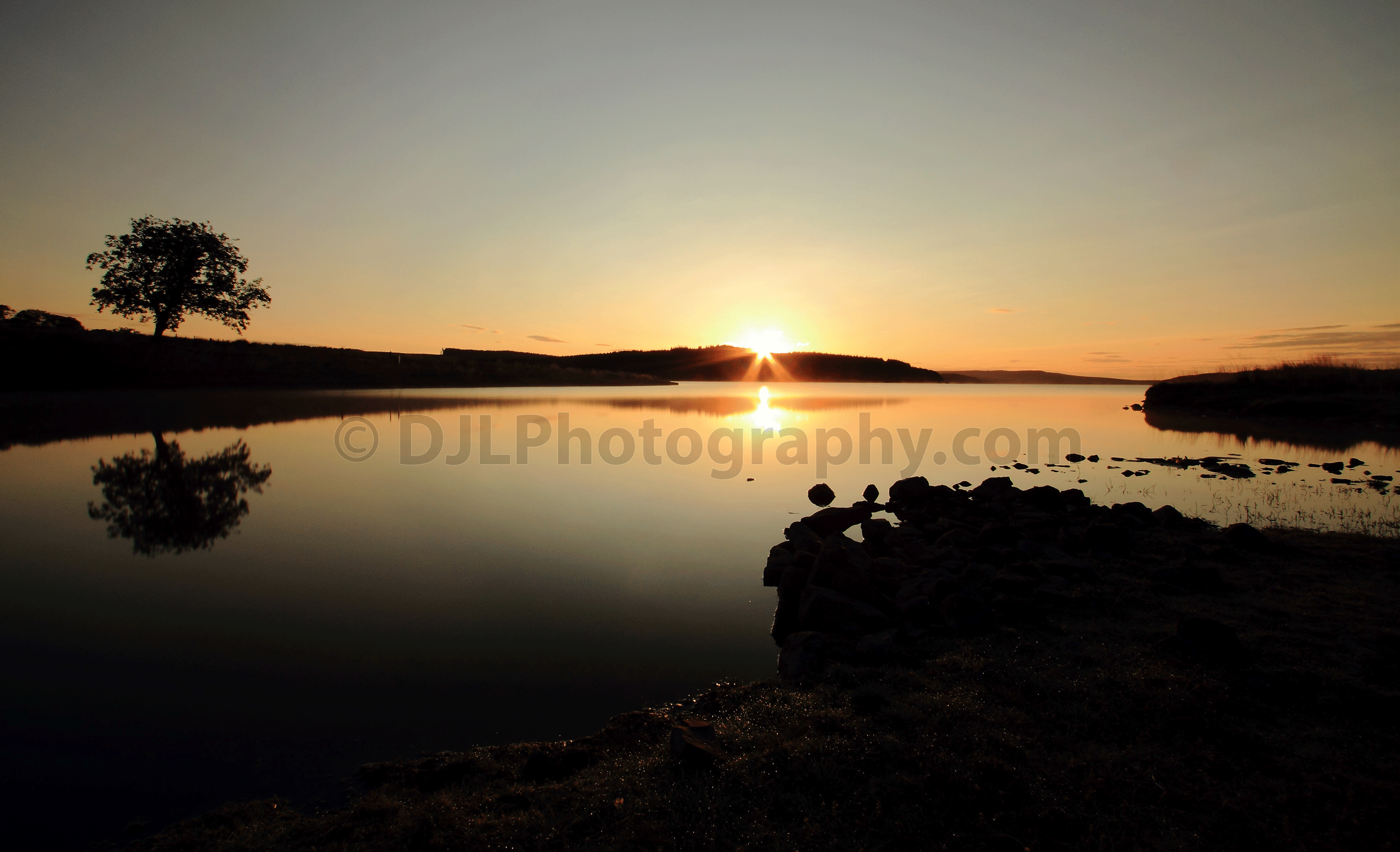 Sunrise over Kielder