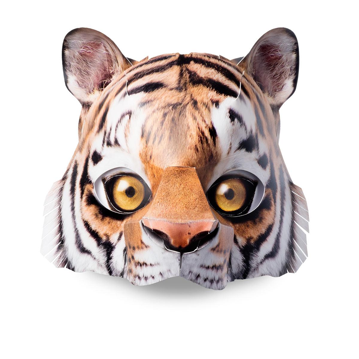 ....Maske Tiger ..Tiger mask....