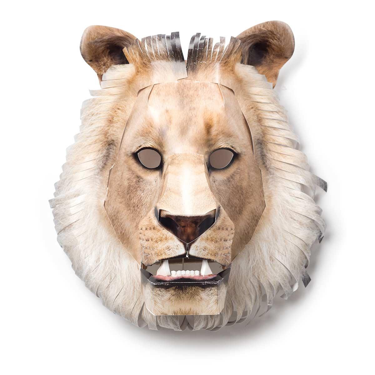 ....Maske Afrikanischer Löwe .. African lion mask ....