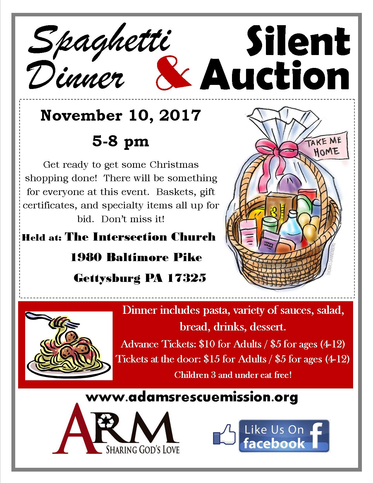 Spaghetti Dinner Auction Focused Ad.jpg
