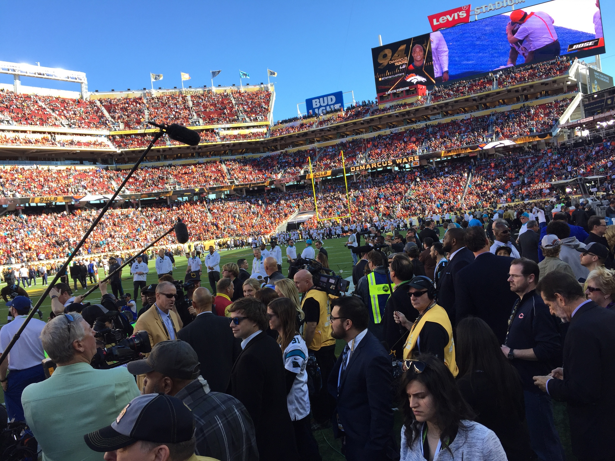 Super Bowl 50 Pre-Game media