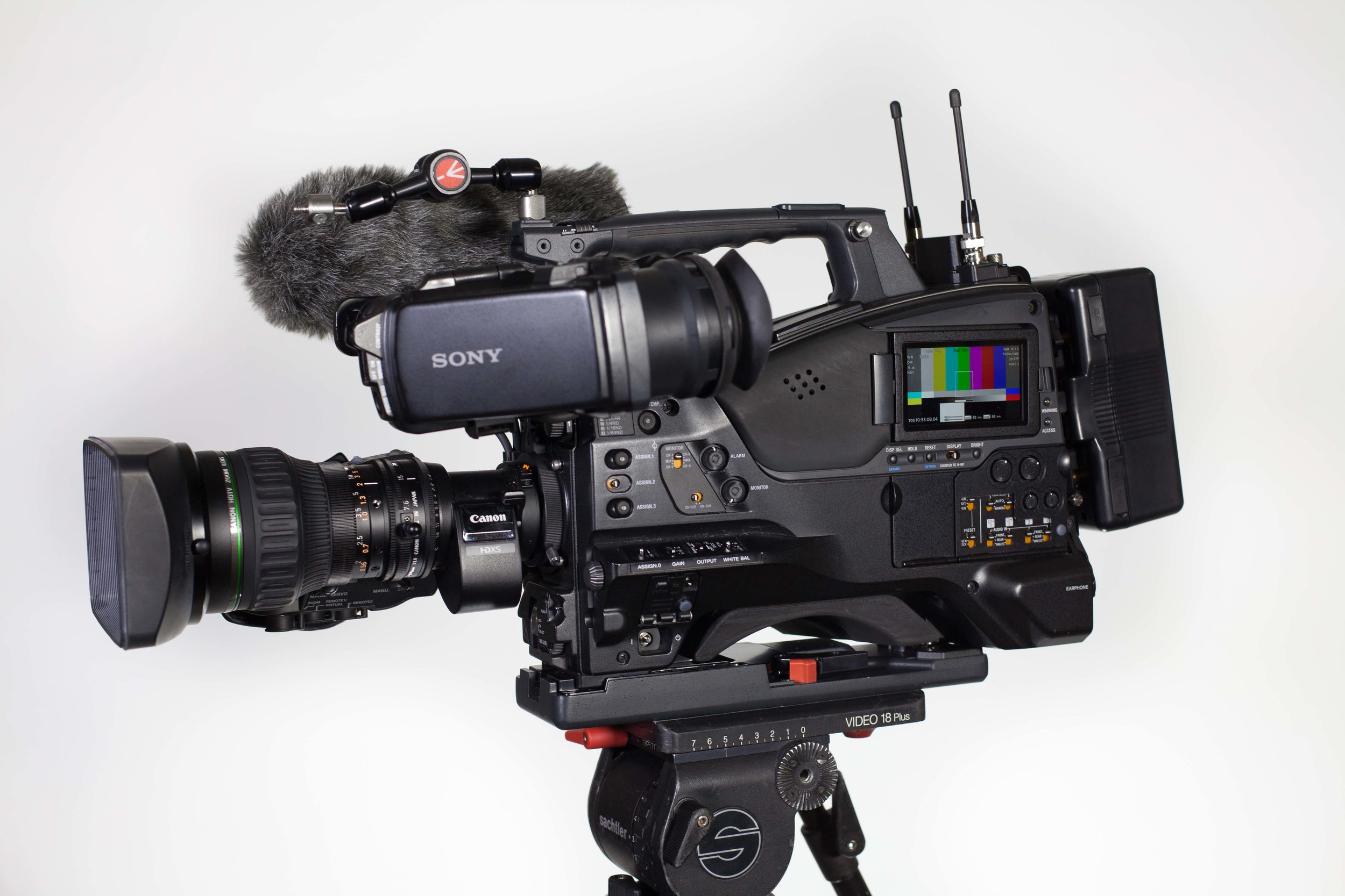 "Sony PXW-x500 - Broadcast 2/3"" ENG camera with amazing specs! Check out the x500"