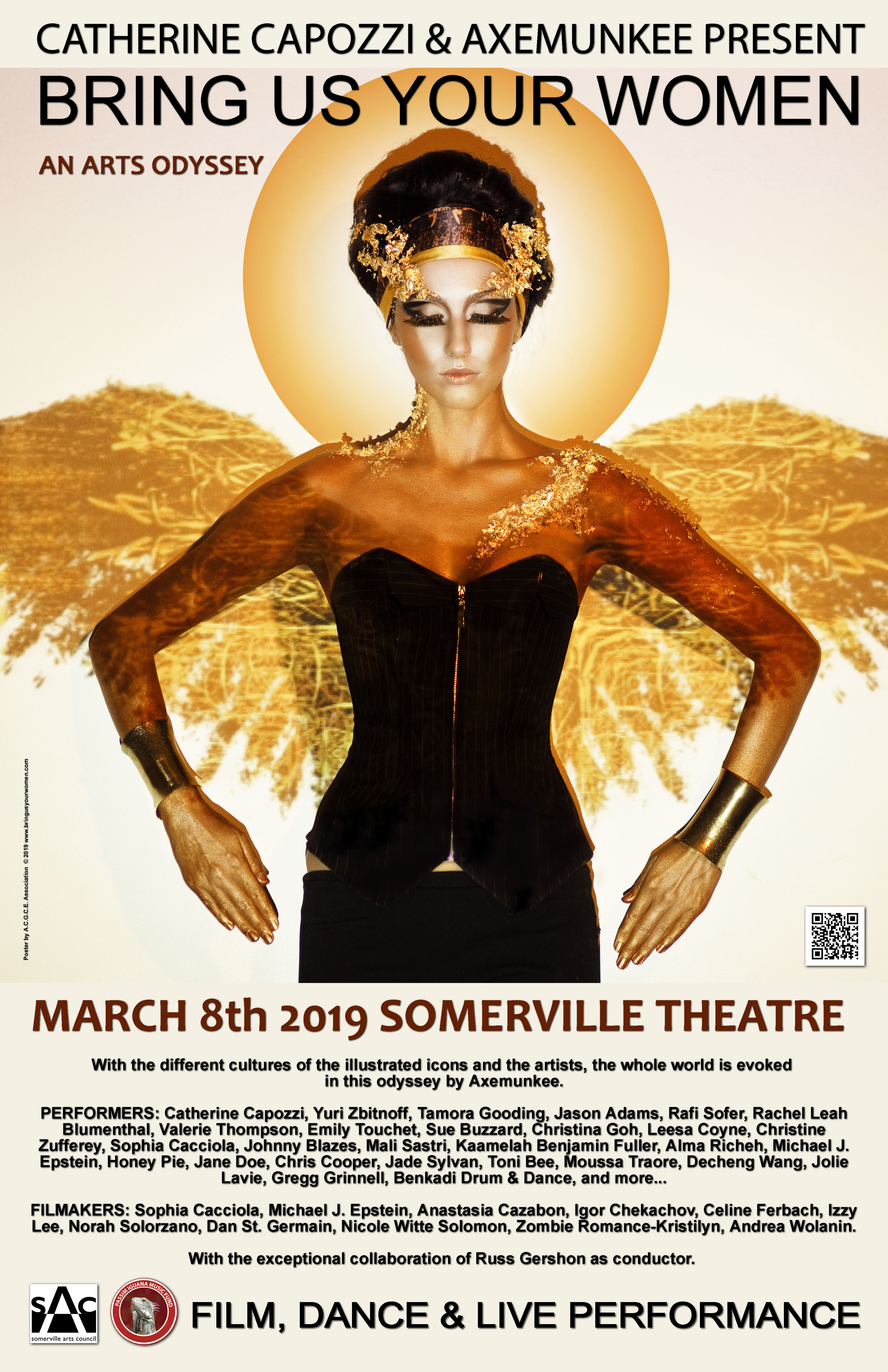 40 Artists from 8 Countries Honor 16 Female Icons at Somerville Theatre