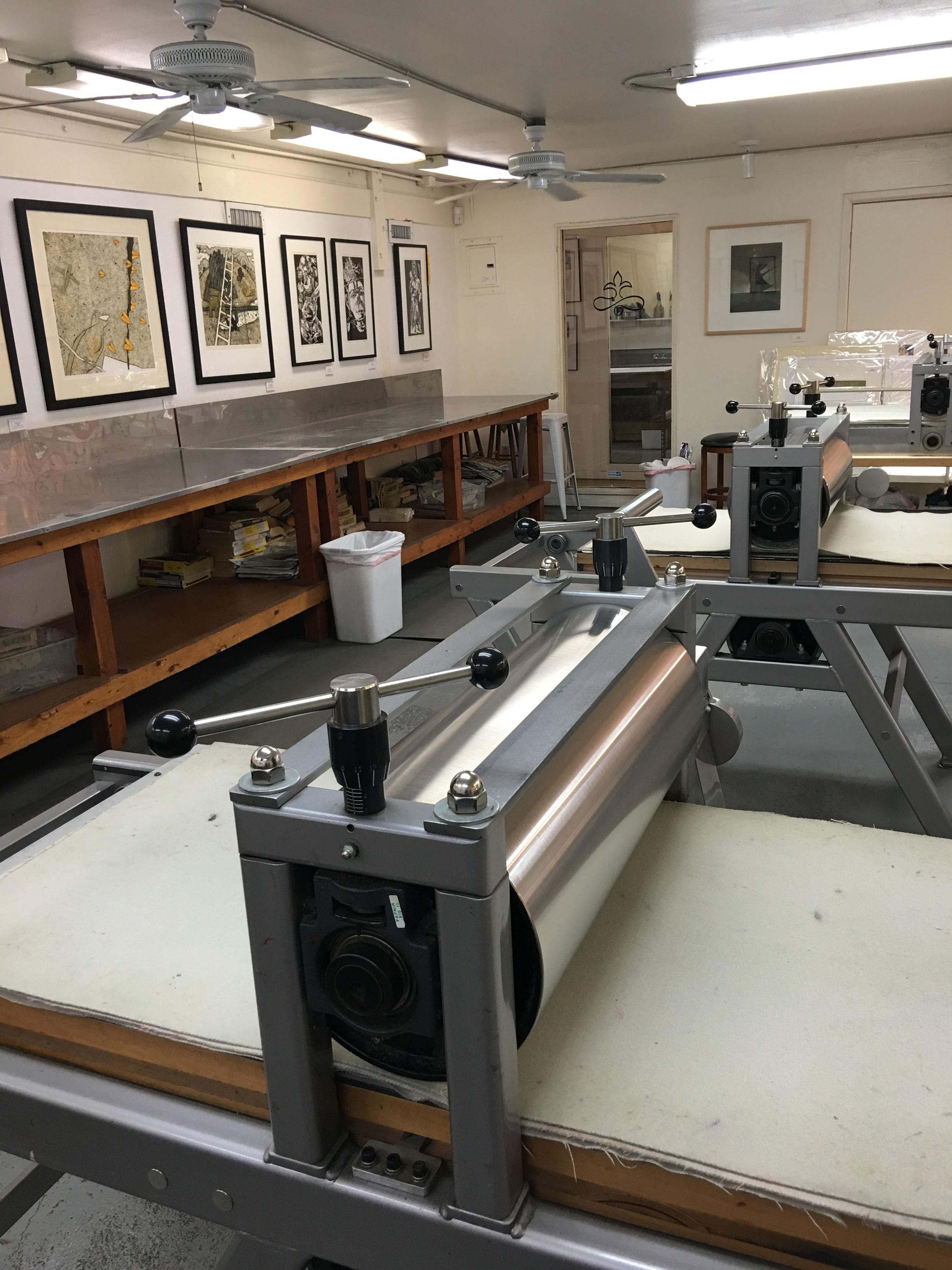 Main Studio sporting Takach machinery