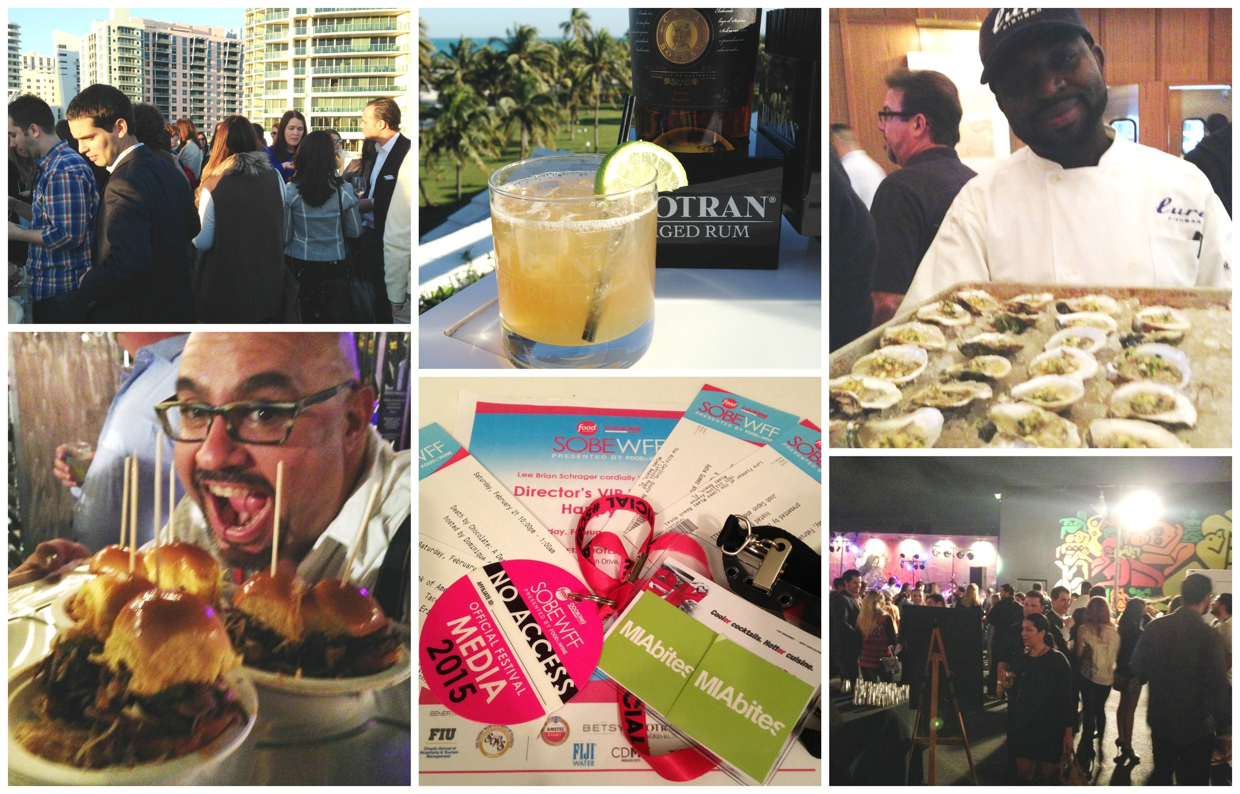 Just a sampling of some of the fun events during SOBEWFF 2015!
