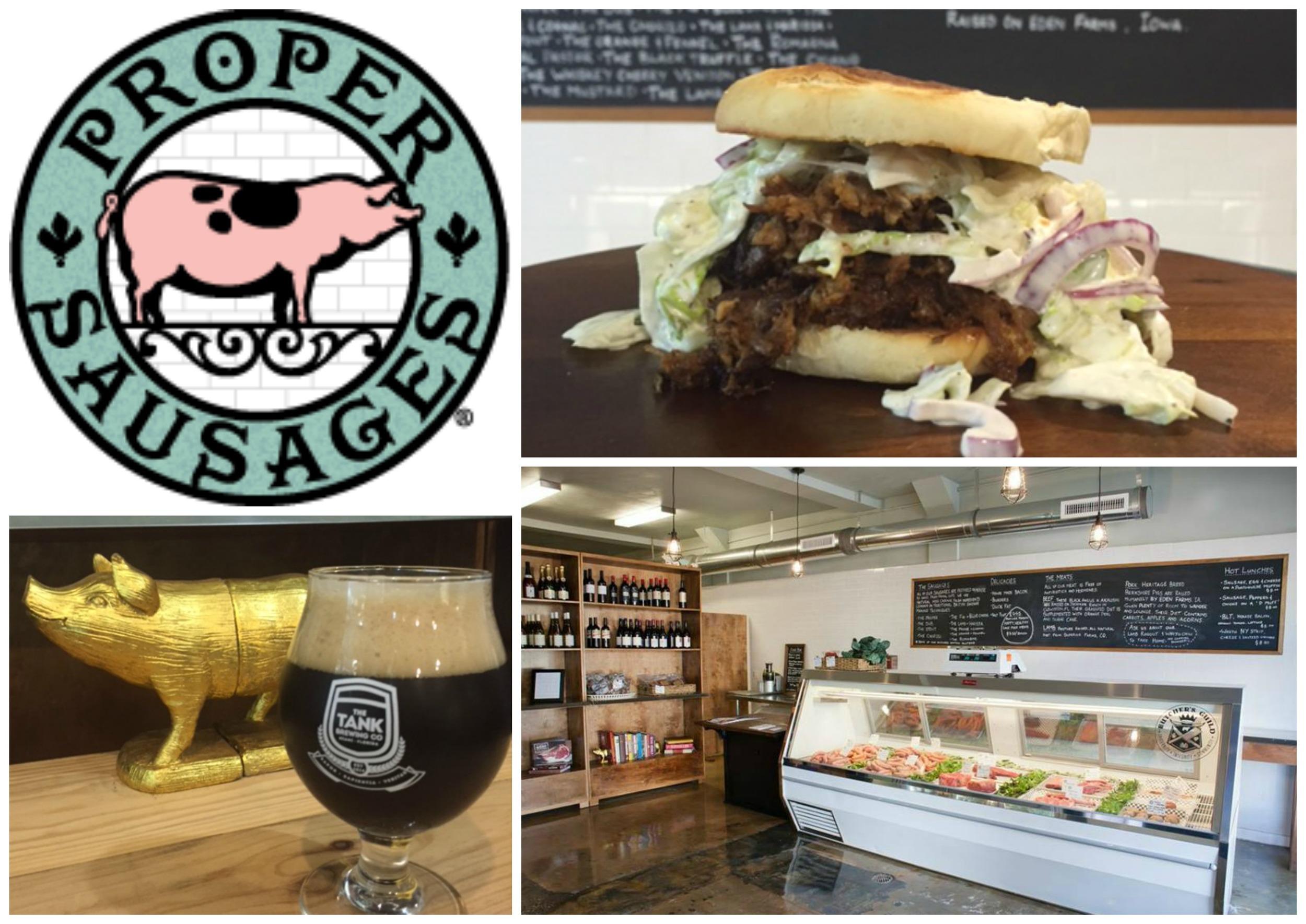 Proper Sausages Butcher and Sandwiches Miami Florida