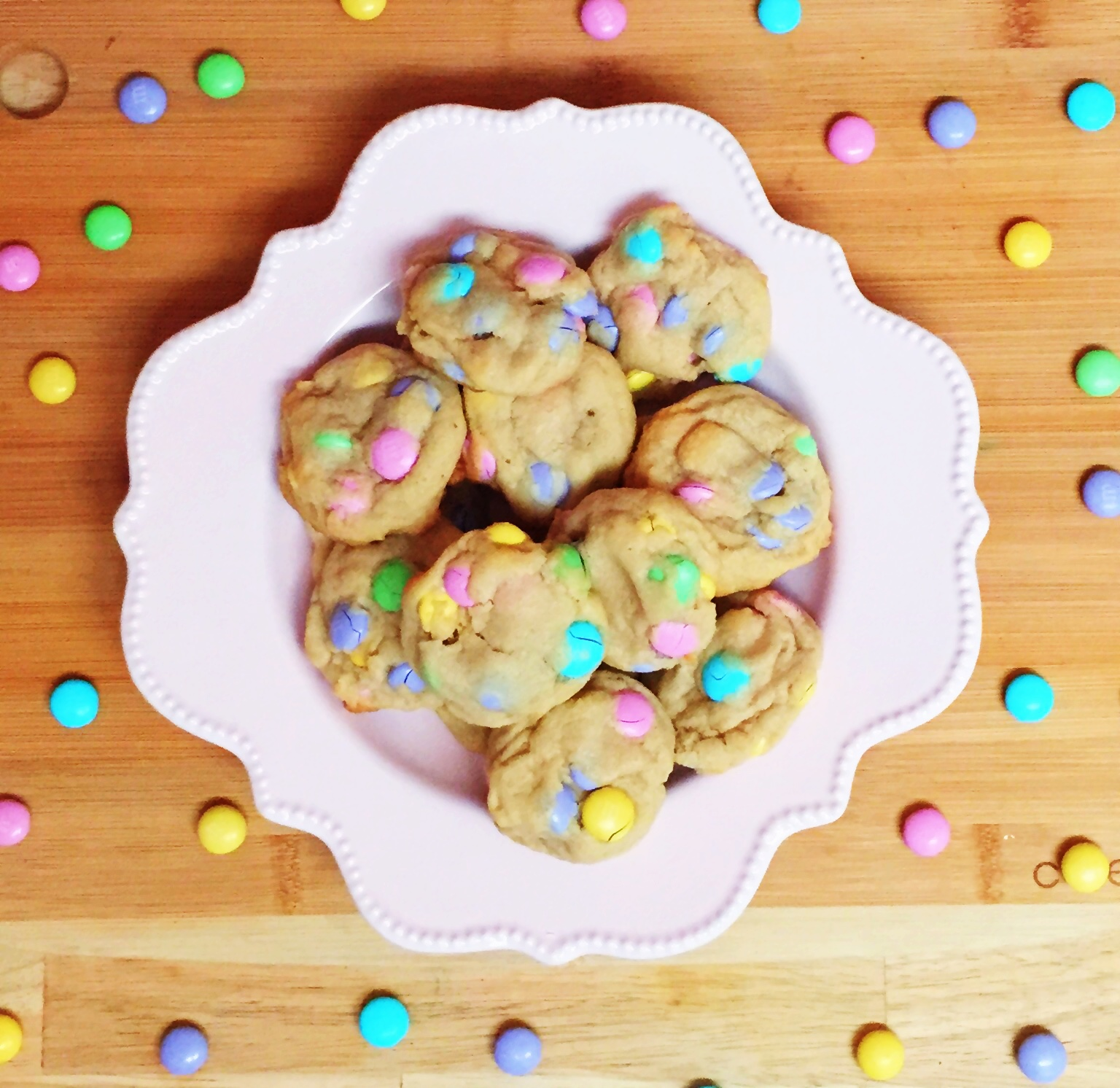 Easter Cookies M&M's Miami Recipe Saturday Sweets