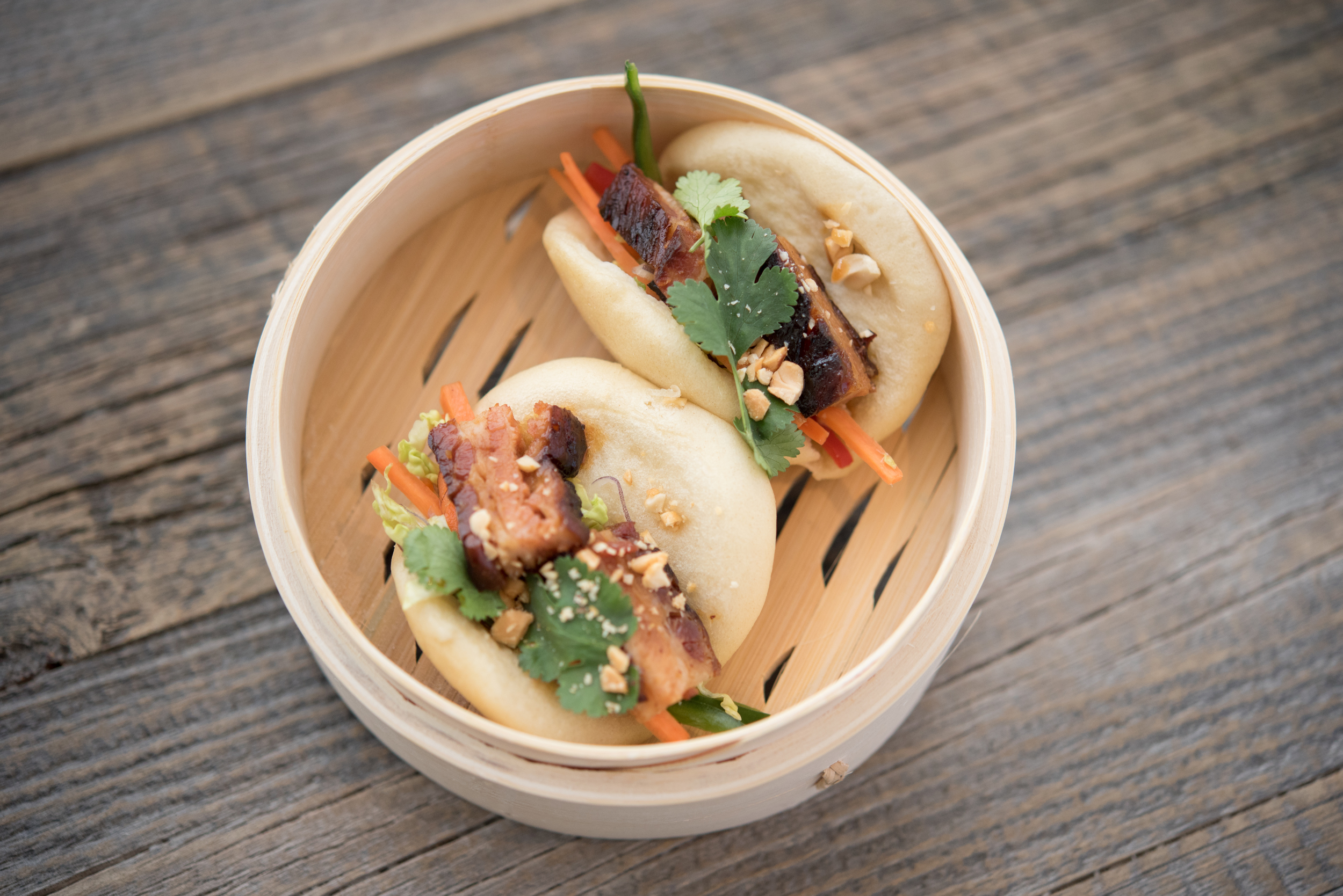 Sarsaparilla Miami Beach Pork Belly Buns