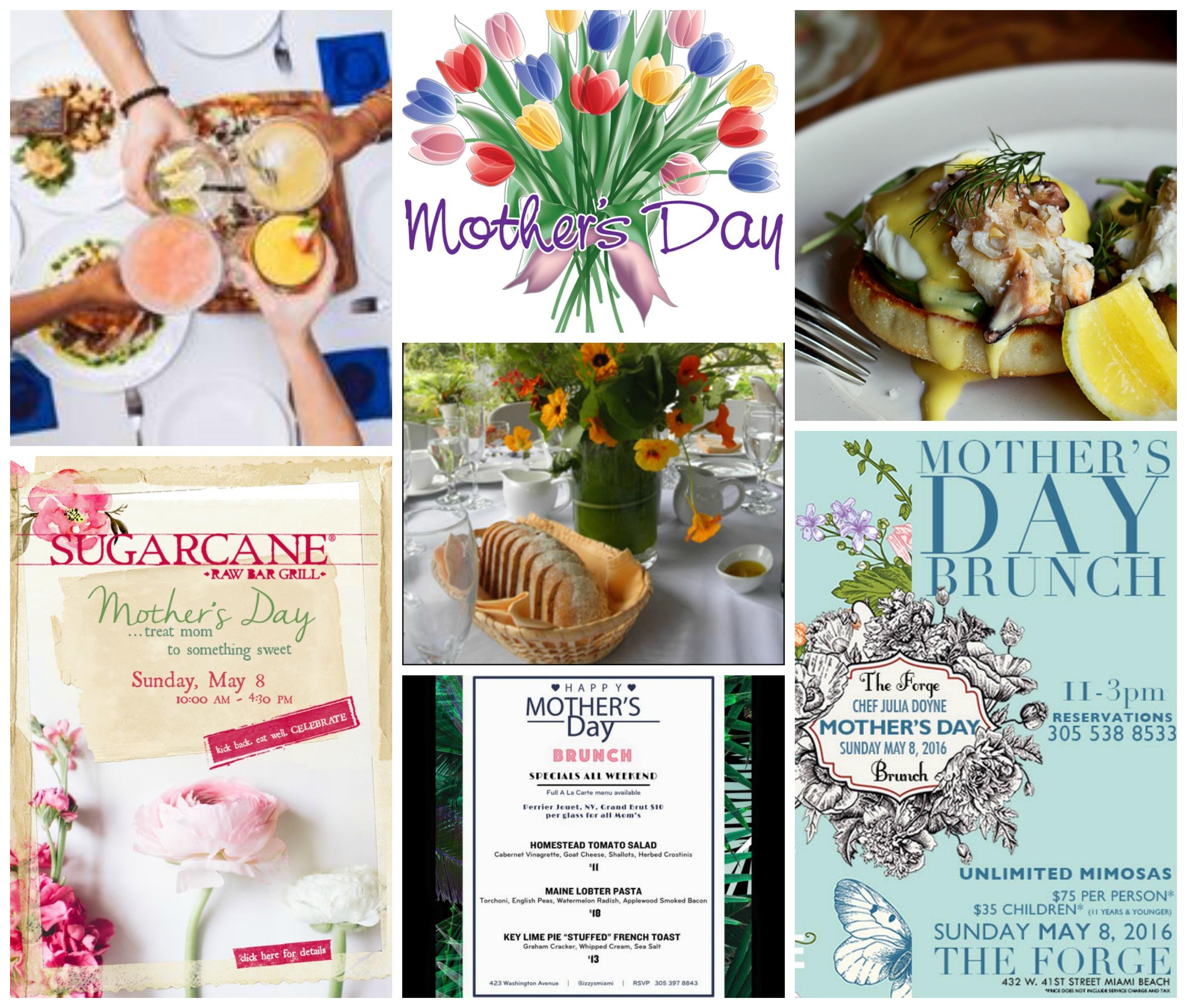 Mothers Day in Miami 2016 Brunch Restaurants