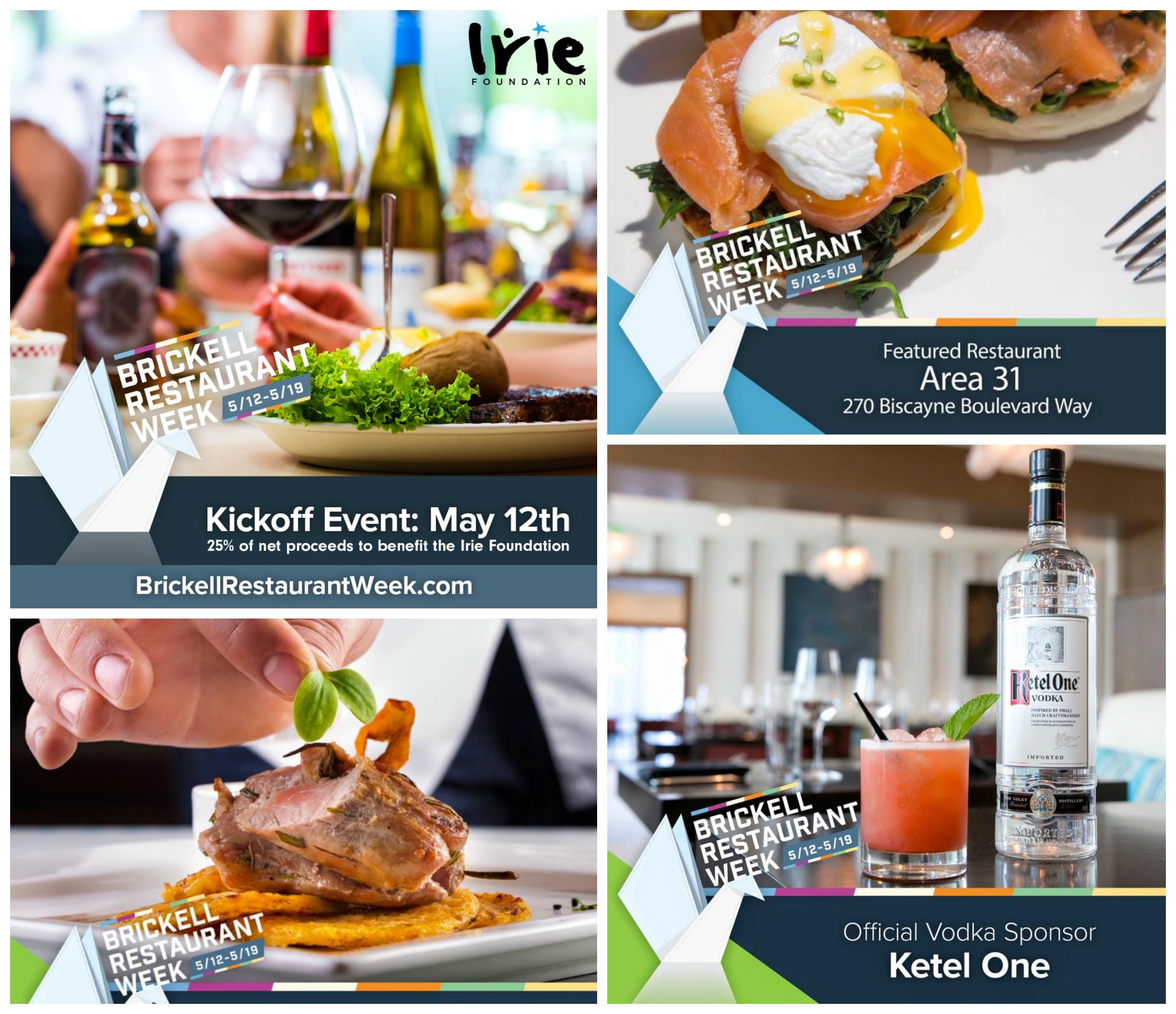 Brickell Restaurant Week and Kick off
