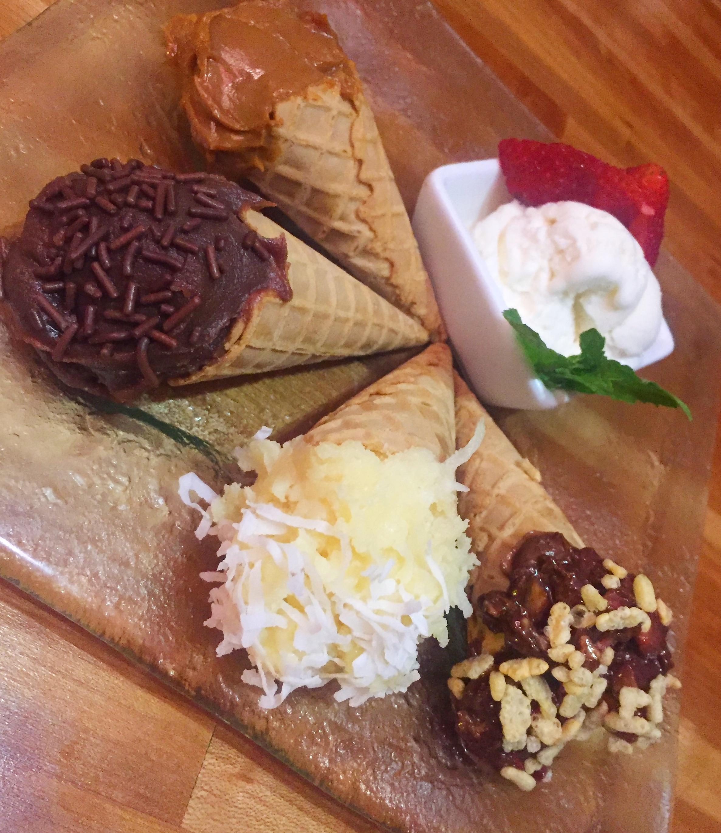 Kone Miami Mother's Day Dessert Cones