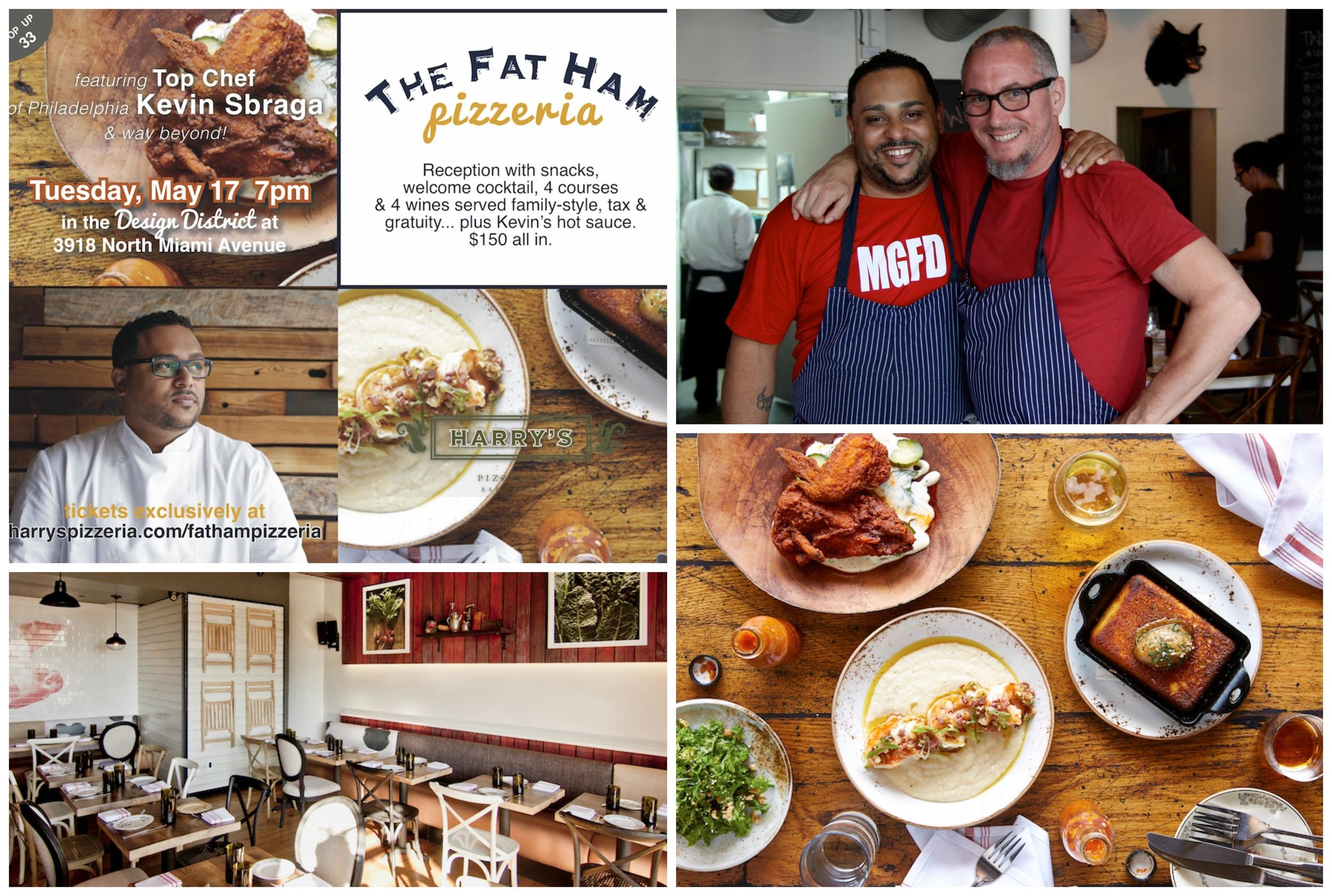 Harry's Pizzeria pop up hosts Fat Ham Chef Sbraga