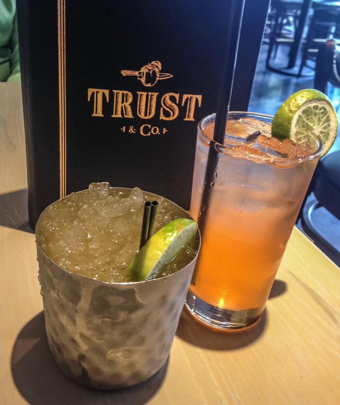 Trust & Co Coral Gables cocktails