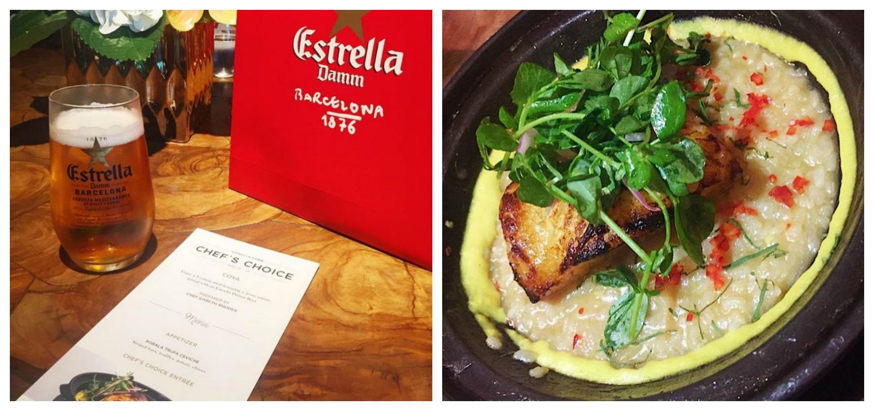 Estrella Damm Miami Coya Chef's Choice