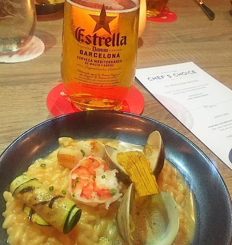 Estrella Damm Miami 1111 Peruvian Bistro Chef's Choice