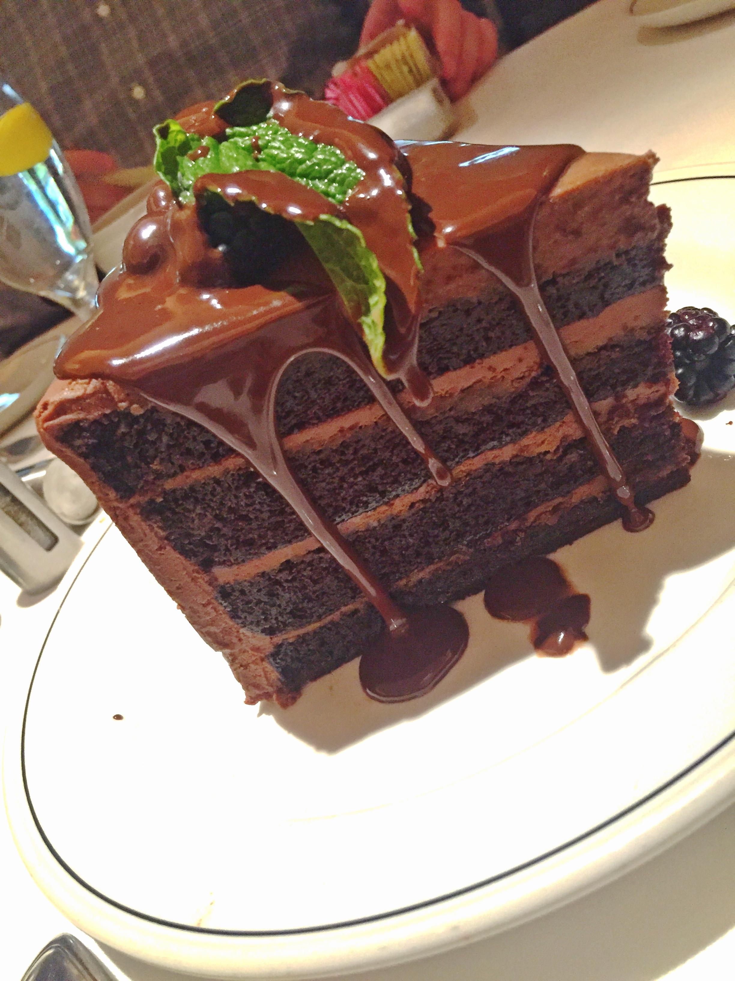 Trulucks Miami Chocolate Layer Cake