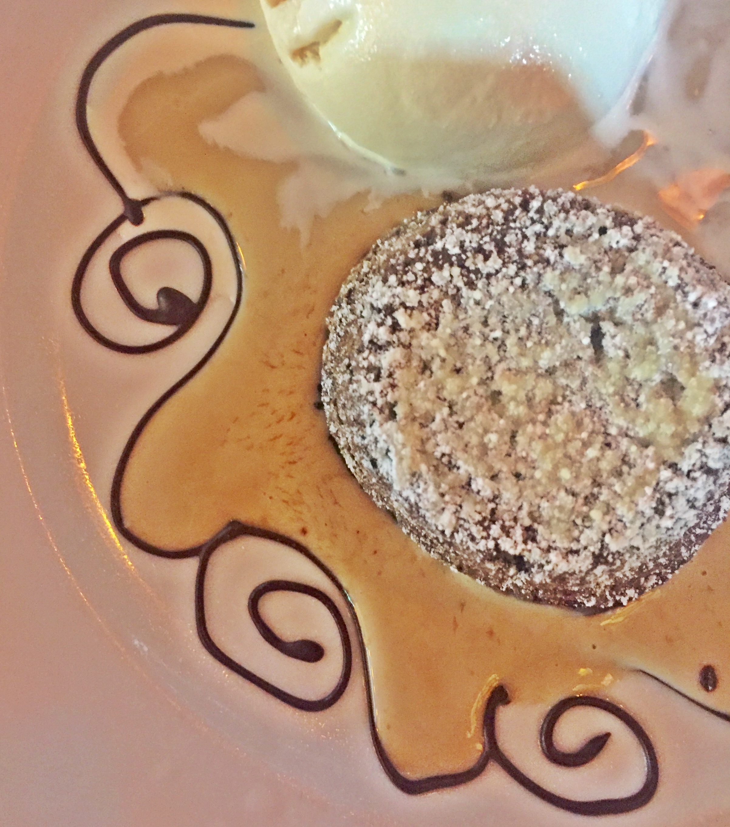 PM Miami Chocolate Souffle Cake and Coffee