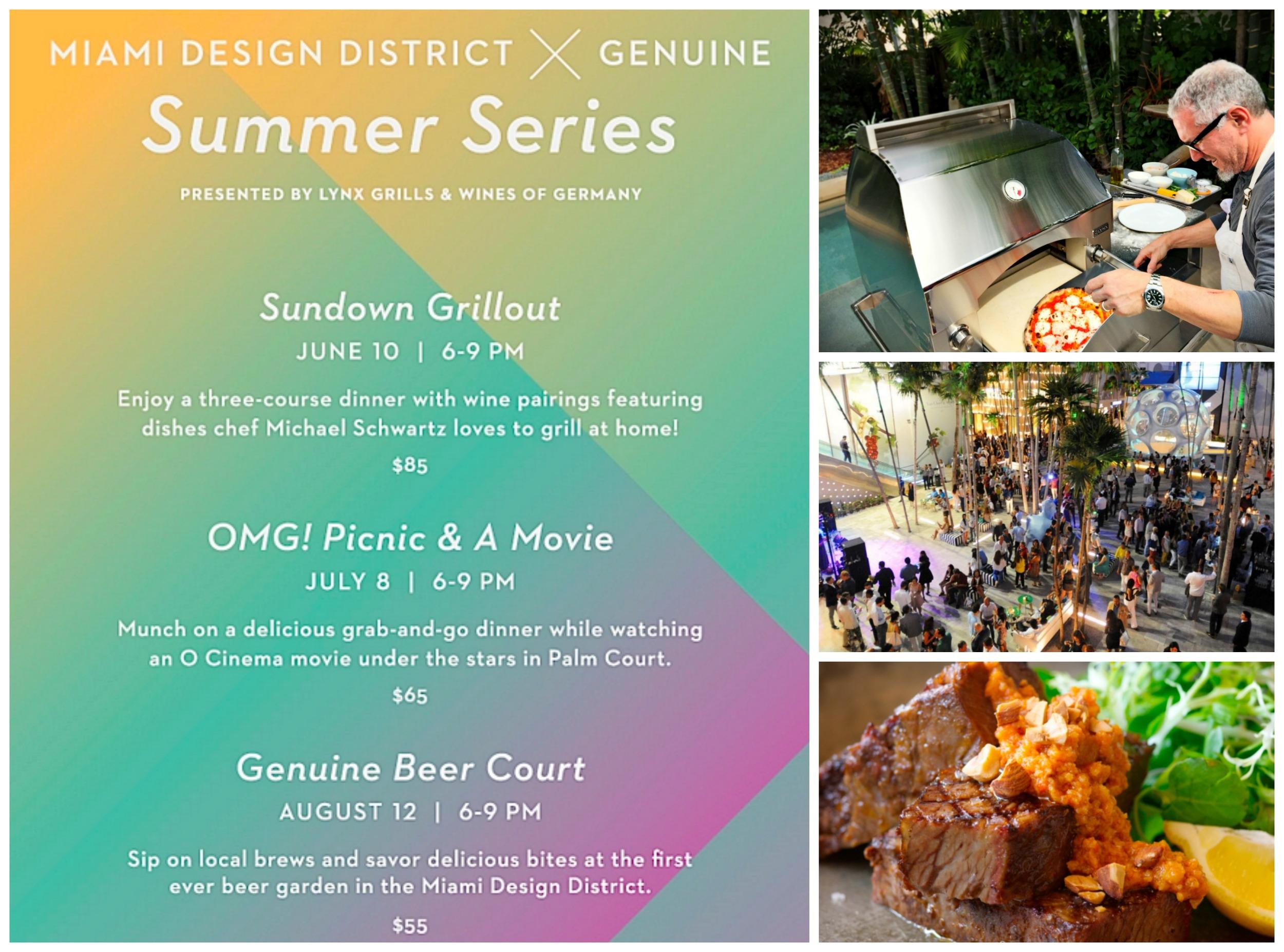 Michael's Genuine Summer Series in Design District