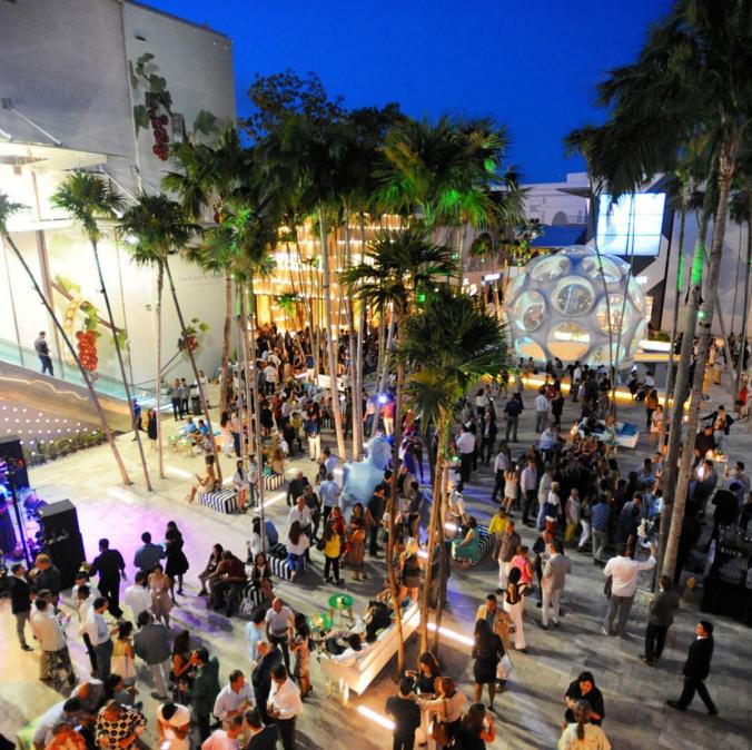 Design District Miami Palm Court