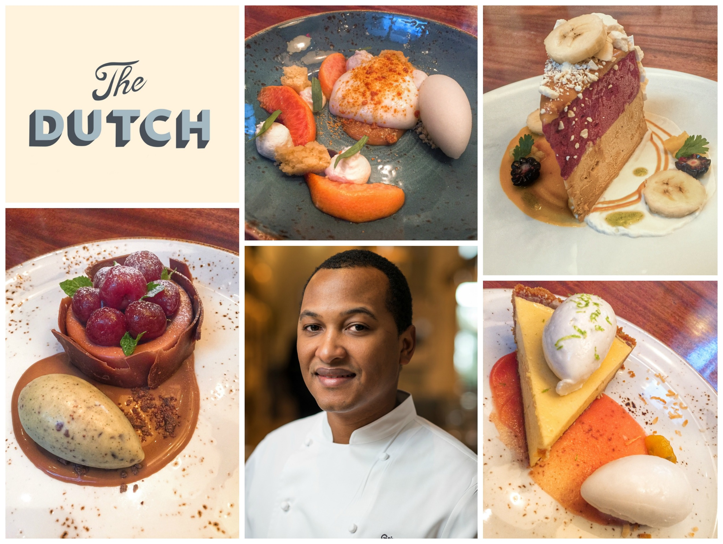 Dessert and Pastry Chef Josh Gripper of The Dutch Miami