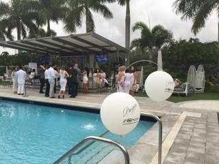 Vagabond Hotel Miami poolside party