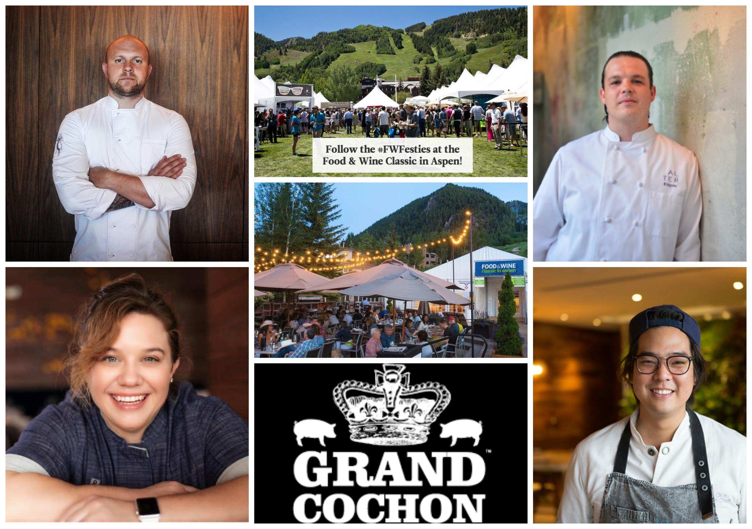 Food & Wine Aspen Classic Miami Chefs Grand Cochon