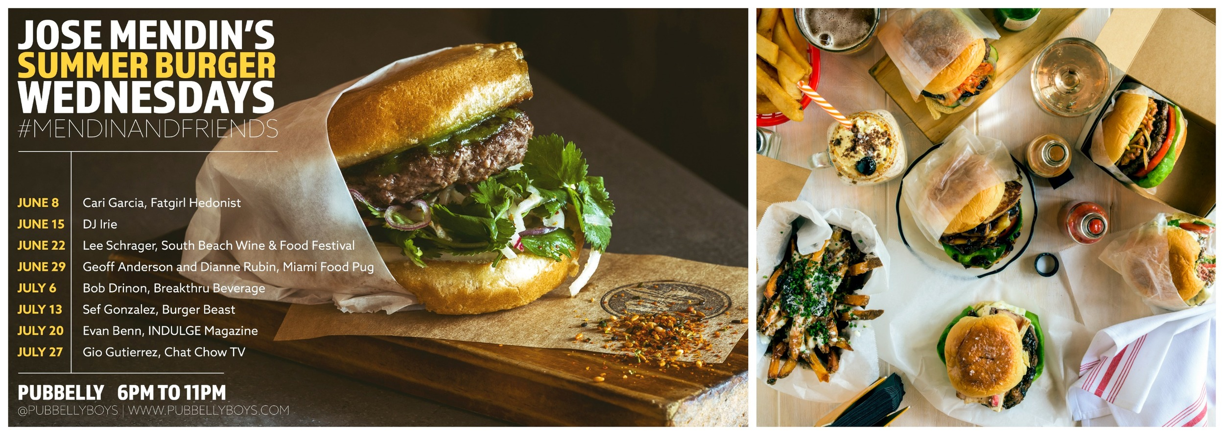 Pubbelly Burger Wednesdays Miami Beach