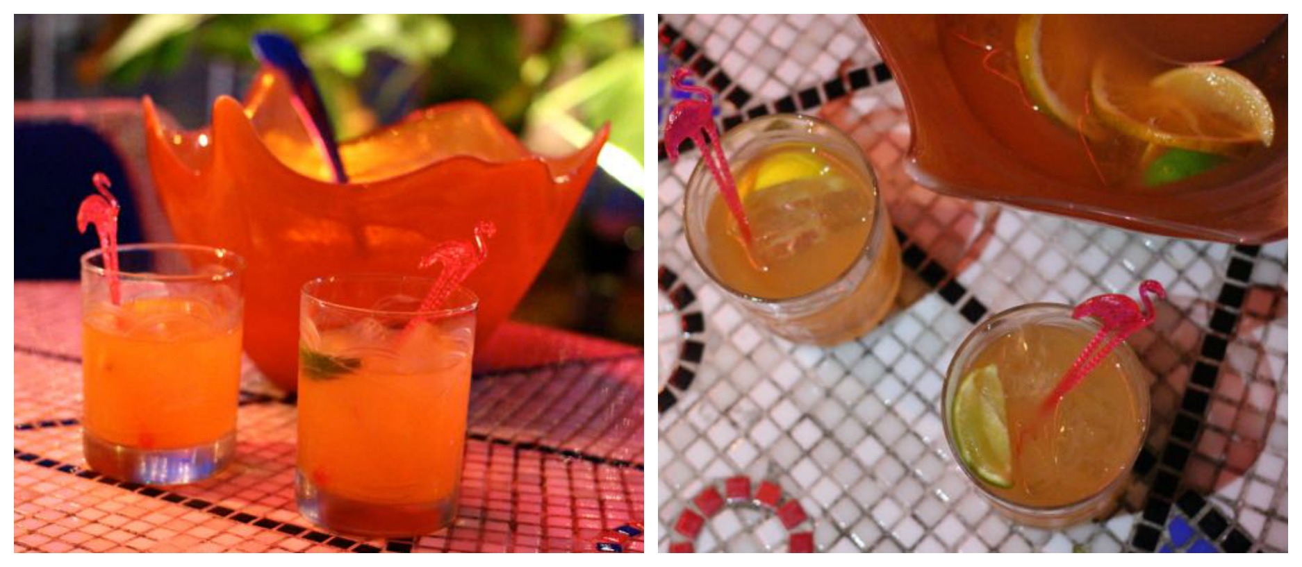 The Continental Miami Beach Rum Punch Cocktail