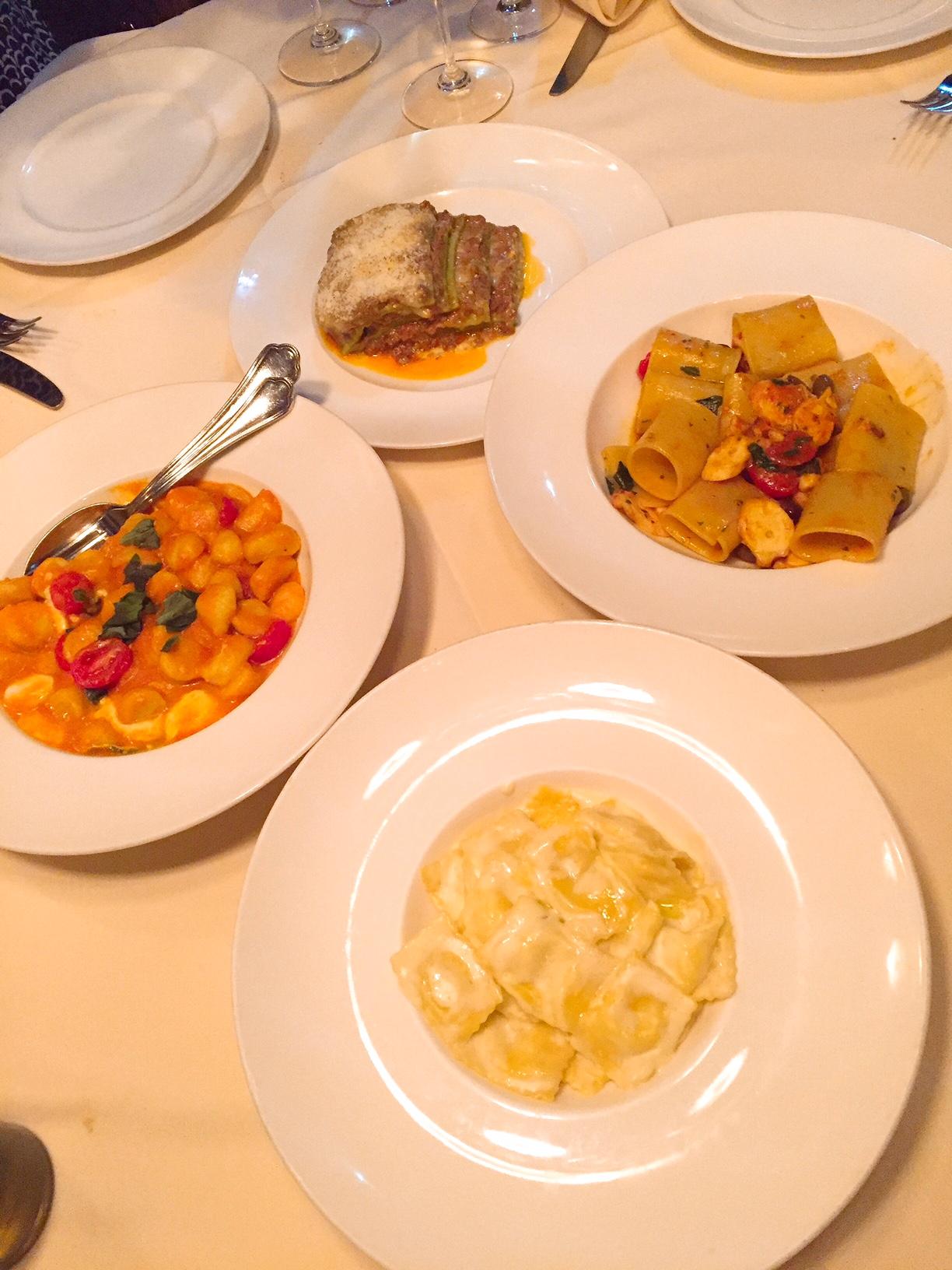 Quattro Lincoln Road Miami Beach Pasta