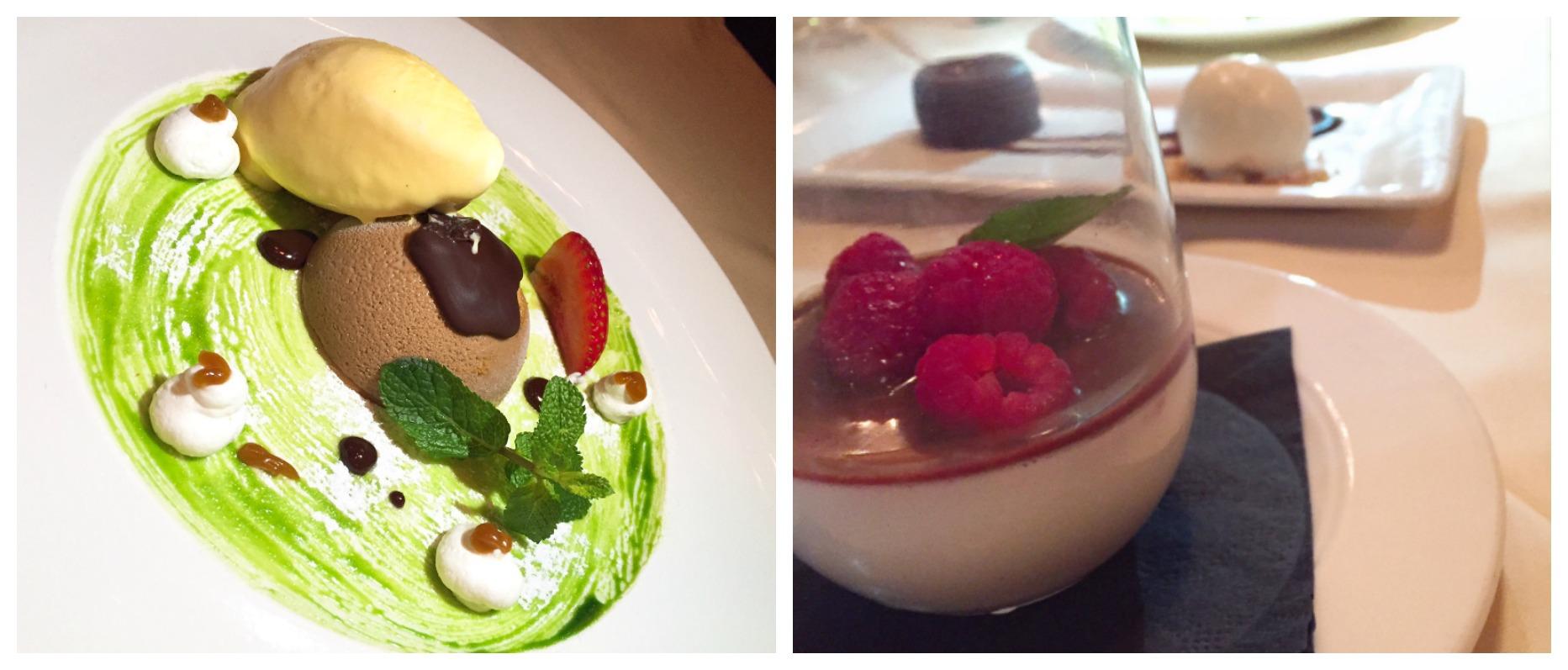 Quattro Miami Beach desserts