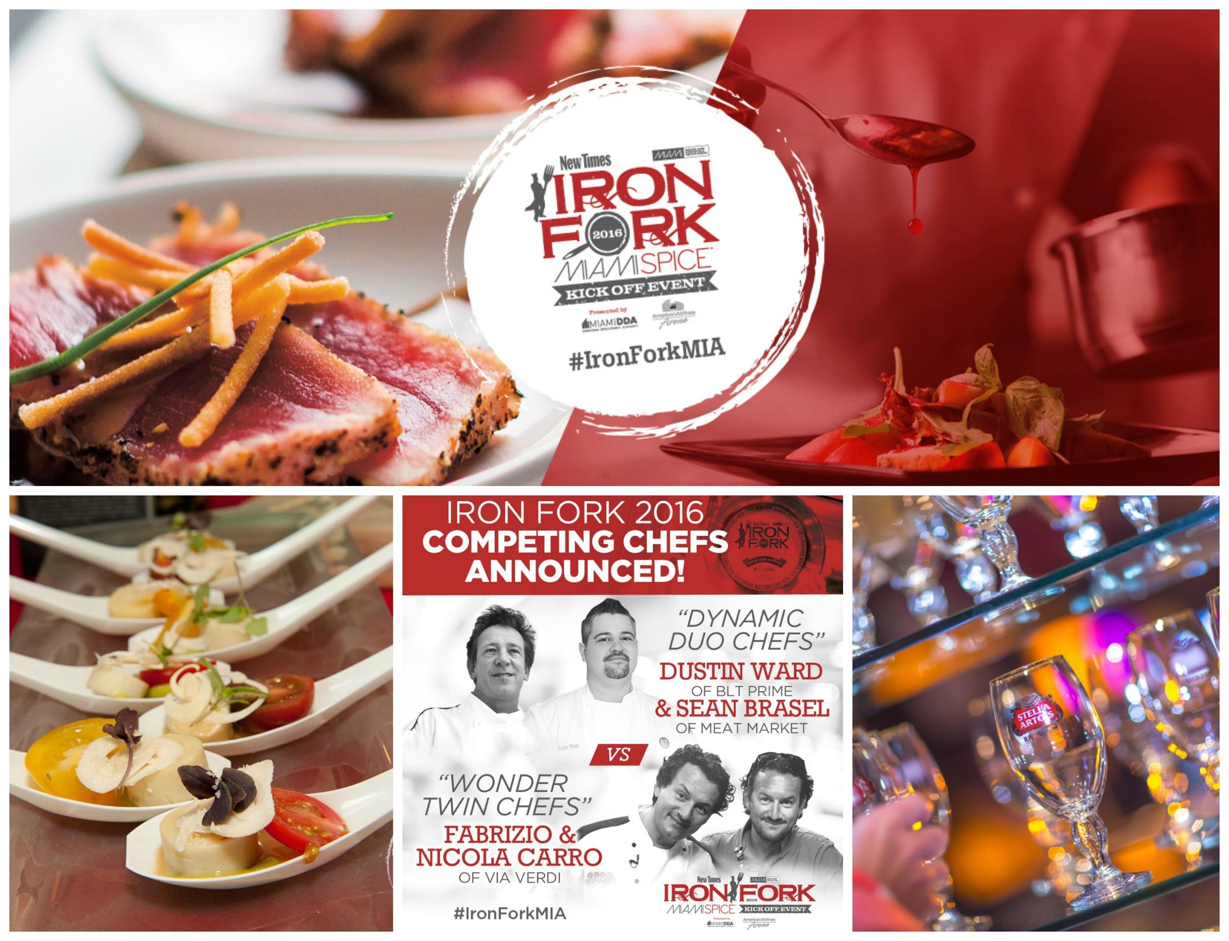 Miami Spice New Times Iron Fork 2016