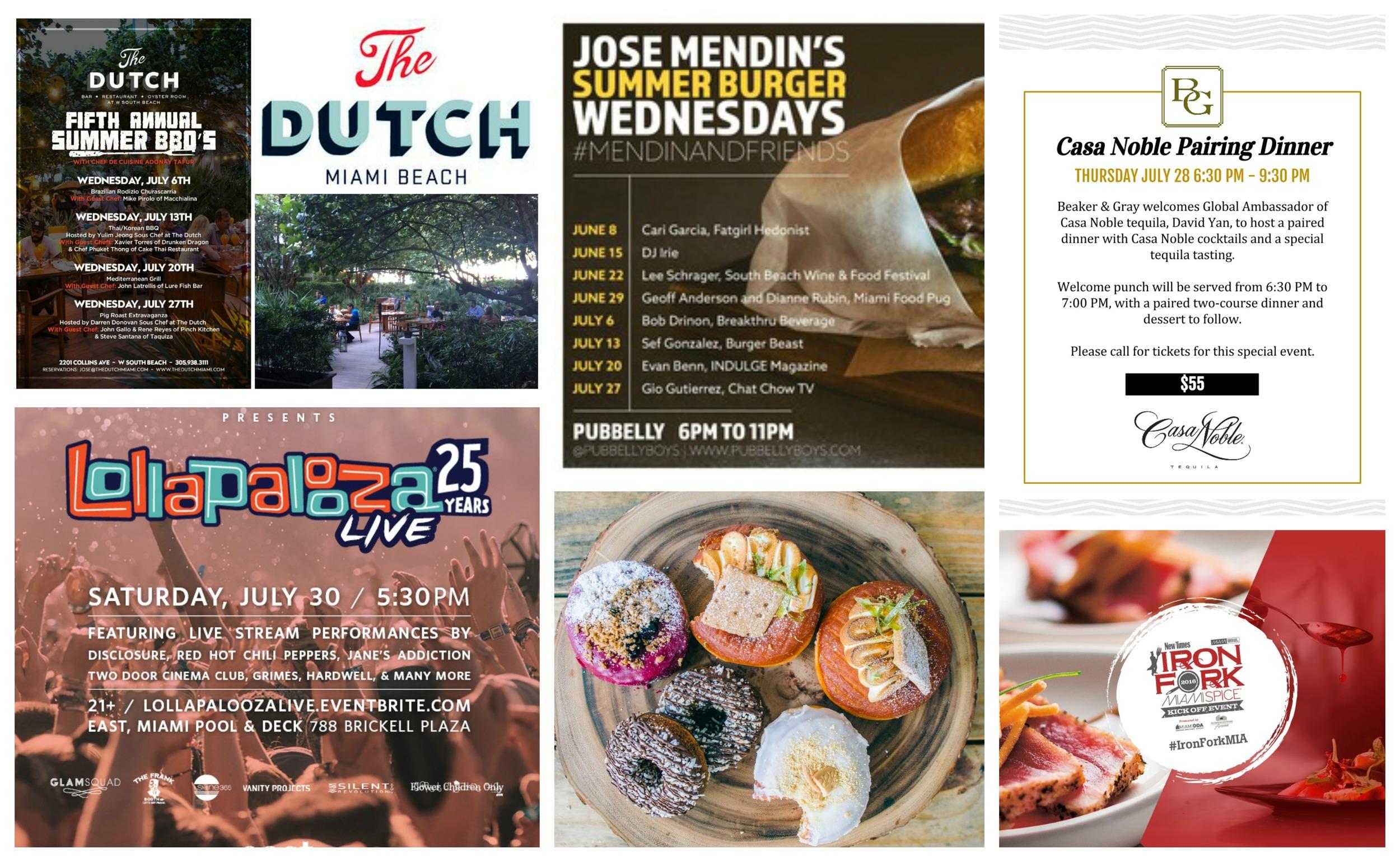 Miami MIAbites Weekly Nibble Food events