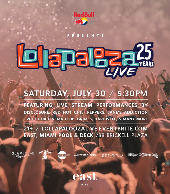 East Hotel by Squire Miami Lollapalooza