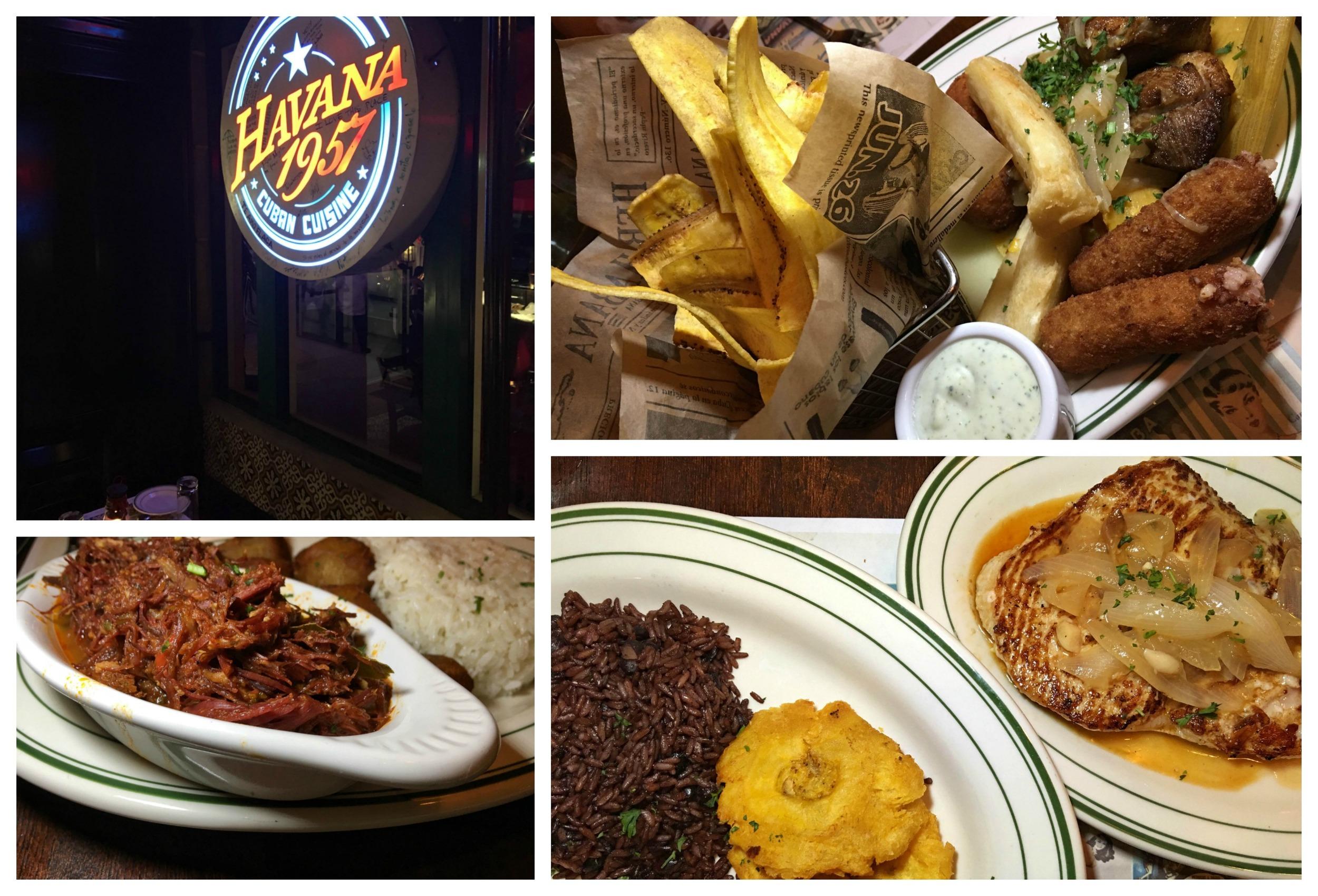Havana 1957 Cuban Food on Ocean Drive Miami Beach