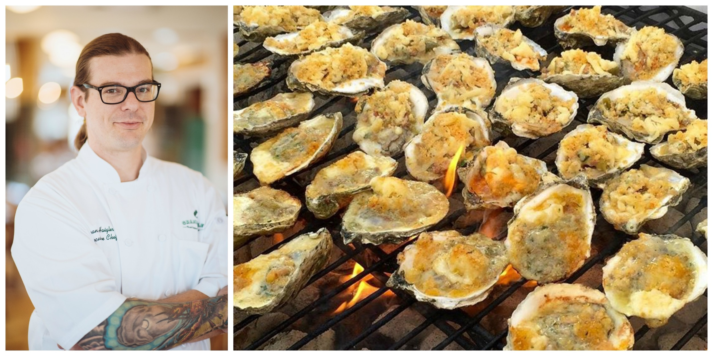 Grand Isle Restaurant New Orleans Grilled Oysters