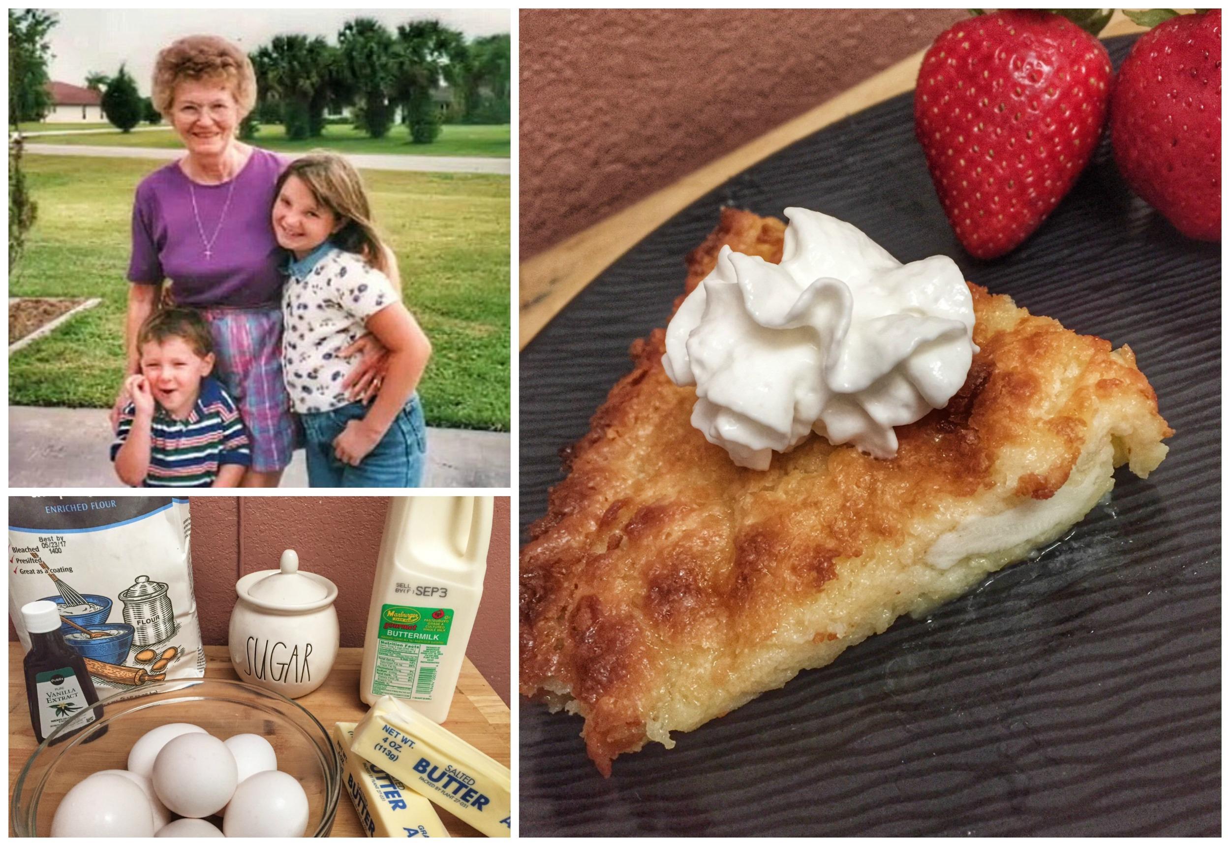 Grandma's Buttermilk Pie MIAbites Recipe