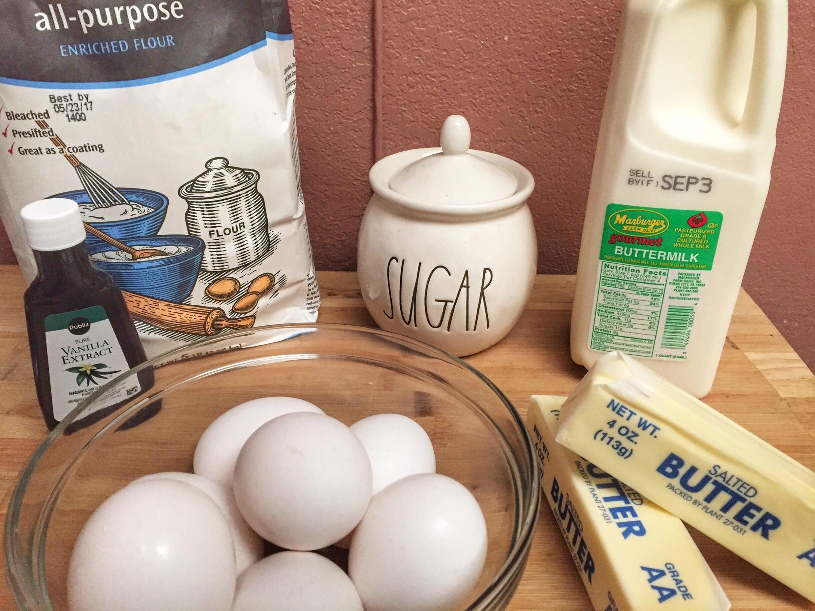 Buttermilk Pie Recipe Ingredients