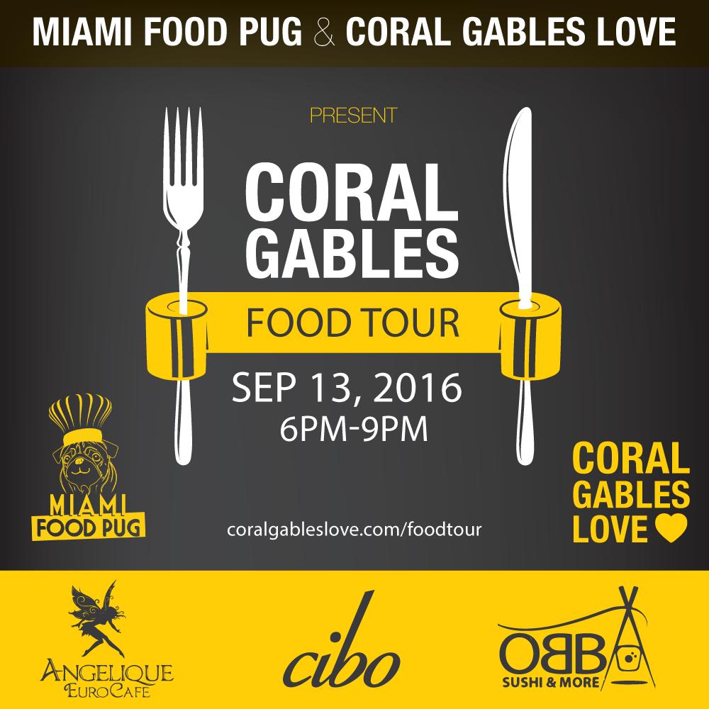 Miami Food Pug Food Tour Coral Gables