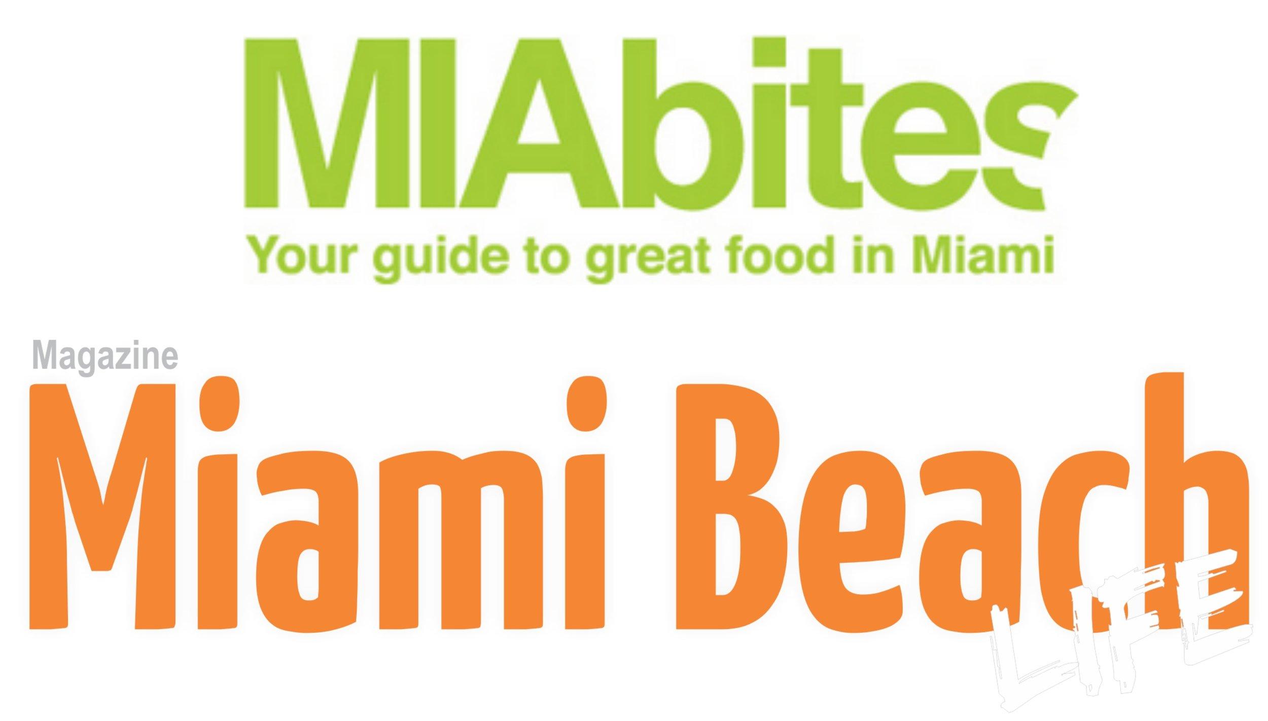 MIAbites and Miami Beach Life Magazine partner