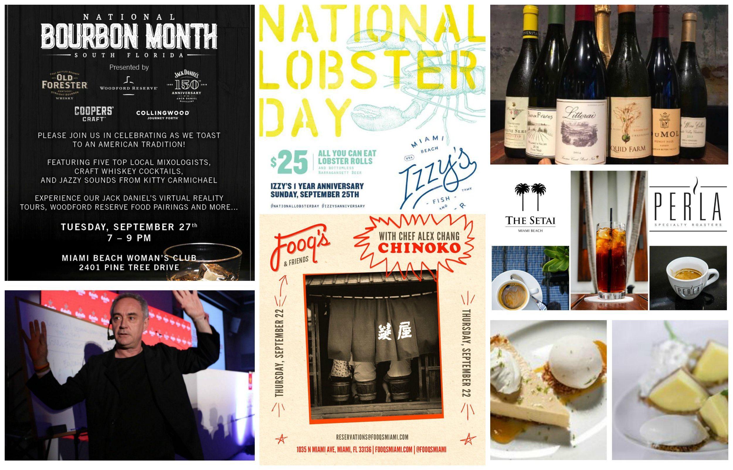 Miami Weekly Nibble Food events