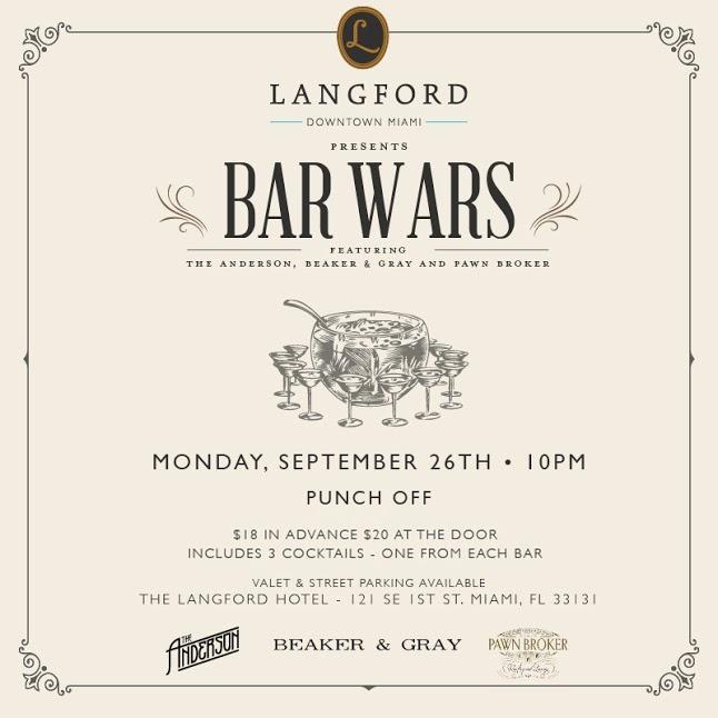The Langford Pawnbroker Bar Wars