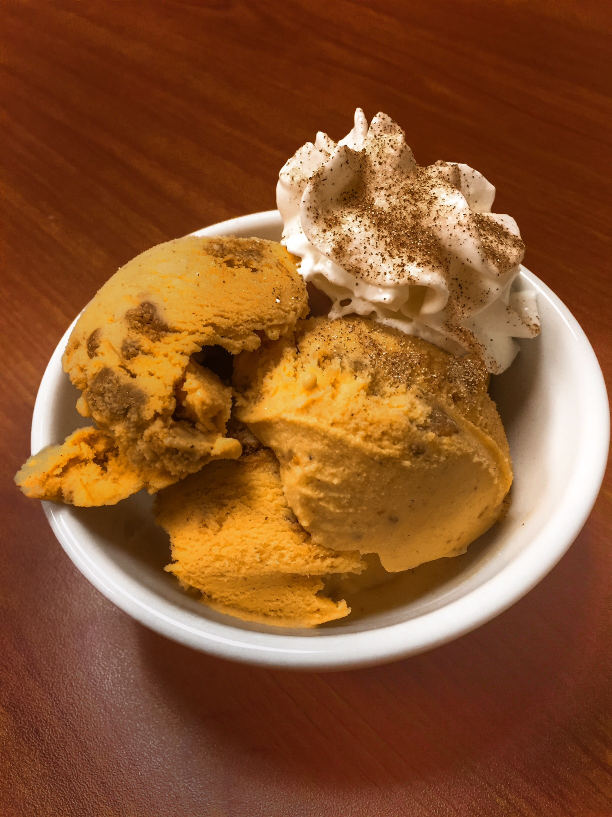 Drunken Pumpkin Ice Cream Sweet Melody Ice Cream