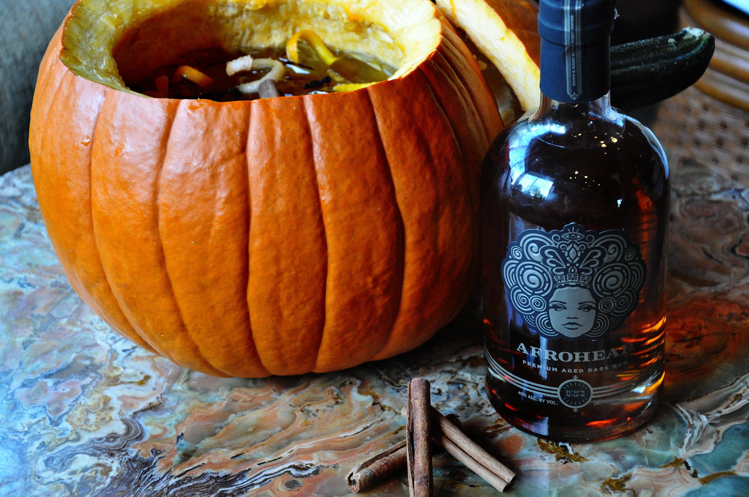 Pumpkin Punch AFROHEAD Rum Repour Bar Miami