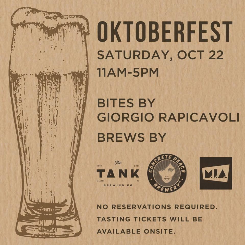 Glass & Vine Coconut Grove Oktoberfest